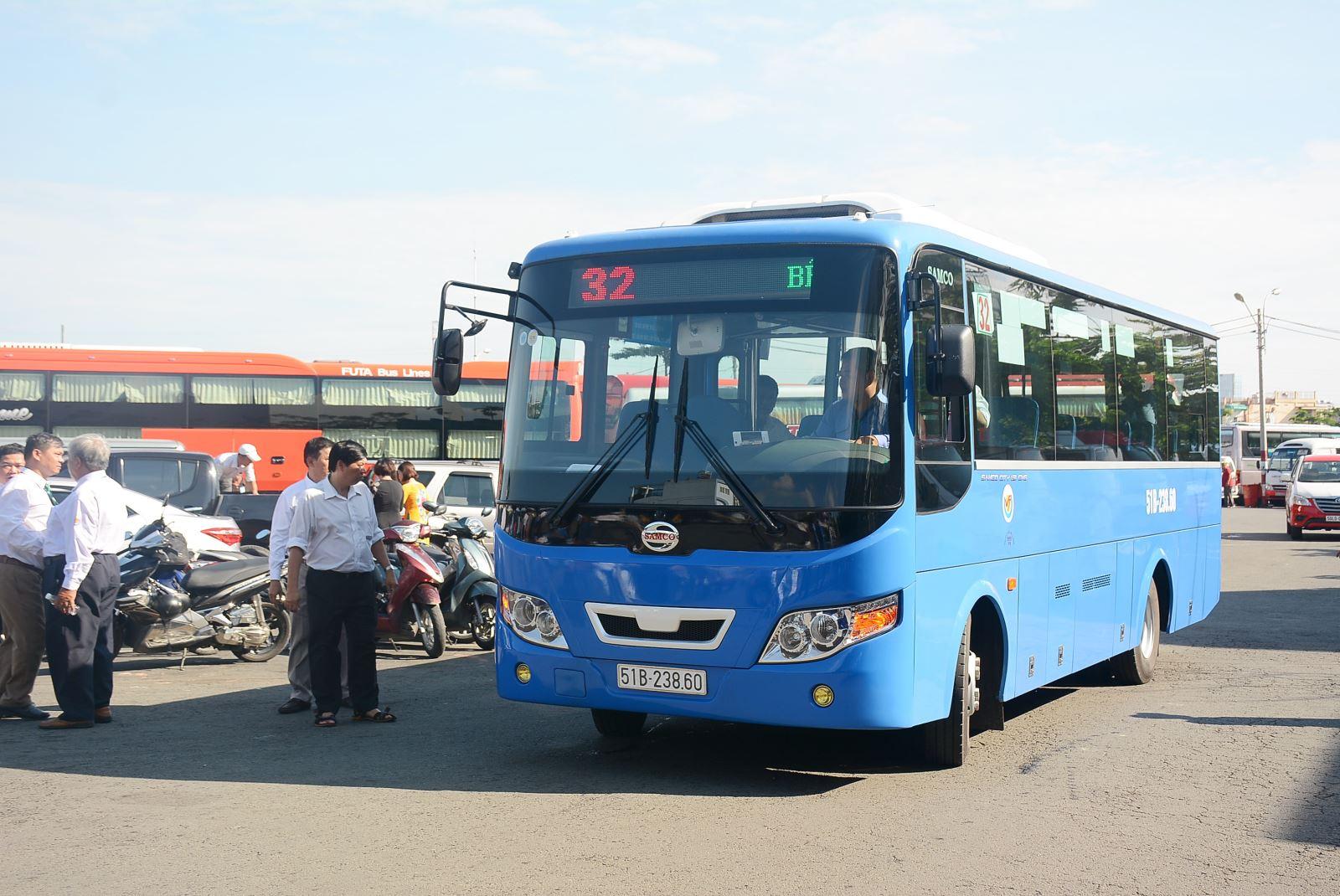 TP.HCM thêm 26 xe buýt sử dụng khí thiên nhiên nén