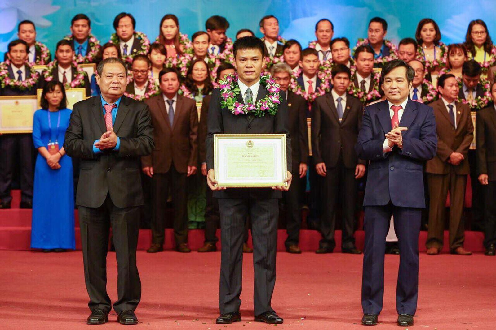 Hoàng Minh Tuân – Chủ tịch Công đoàn cơ sở xuất sắc