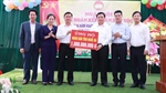 PV GAS joins in a donation programme for the flood-hit central region of  Ho Chi Minh National Academy of Politics
