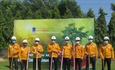 PetroVietnam Gas South East Transmission Company develops green spaces for gas works