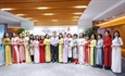 Ao dai exalts PV GAS beauty in a week to celebrate March 8