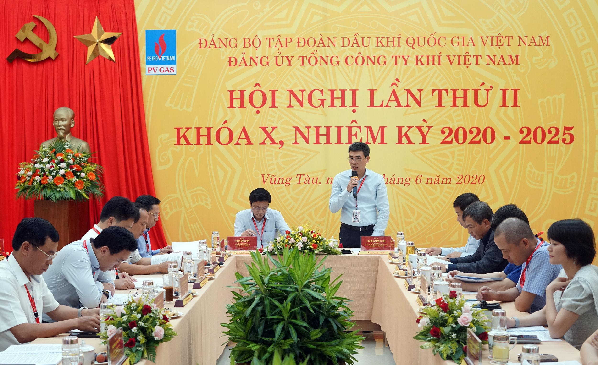 Bí thư Đảng ủy PV GAS Dương Mạnh Sơn khai mạc Hội nghị