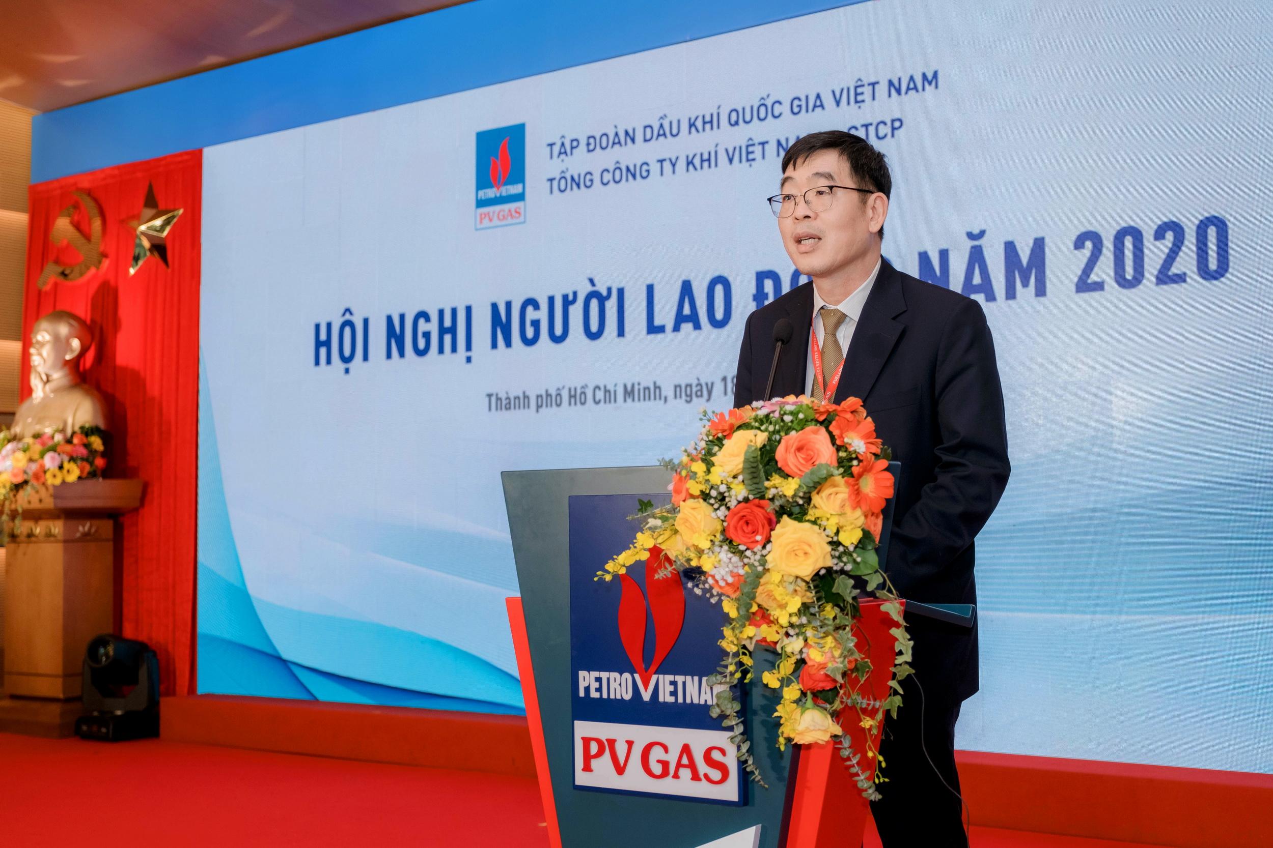 Chủ tịch Công đoàn PV GAS Nguyễn Văn Hùng phát động Thi đua 2021