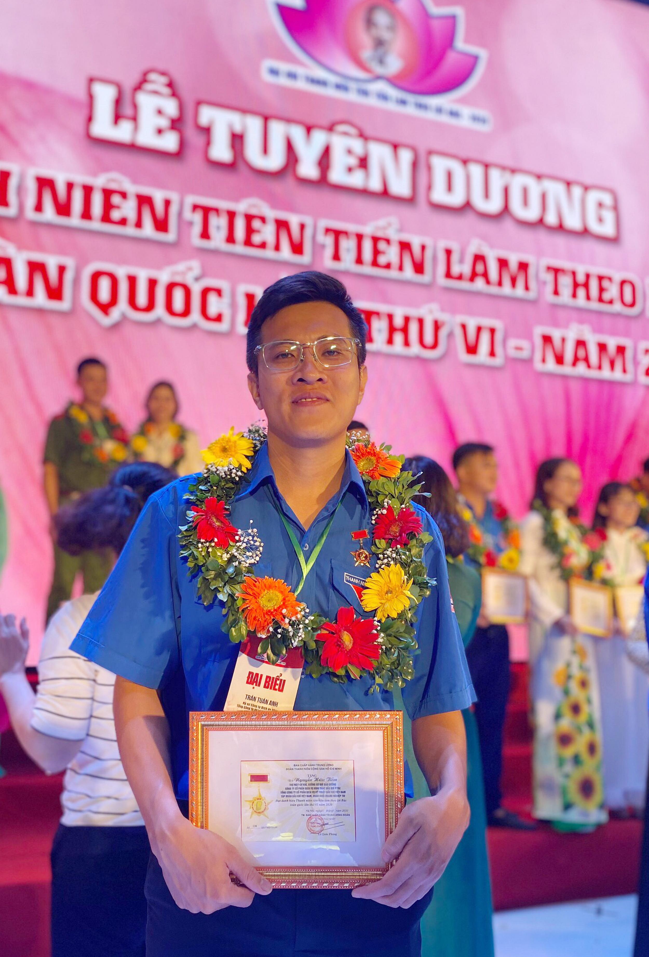 Kỹ sư Trần Tuấn Anh nhận danh hiệu tôn vinh