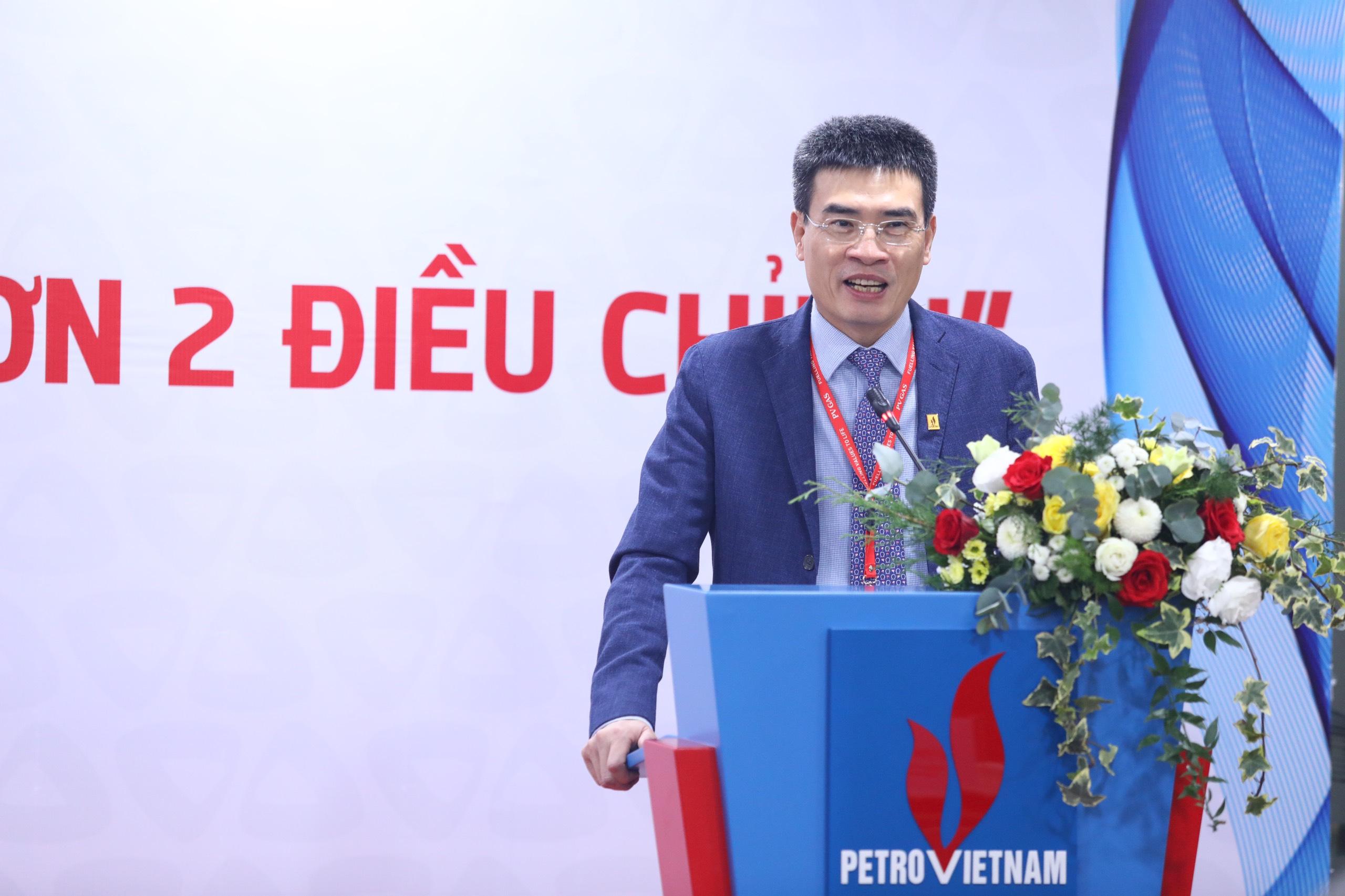 Phát biểu chúc mừng Lễ ký kết của ông Dương Mạnh Sơn, Bí thư Đảng ủy – TGĐ PV GAS