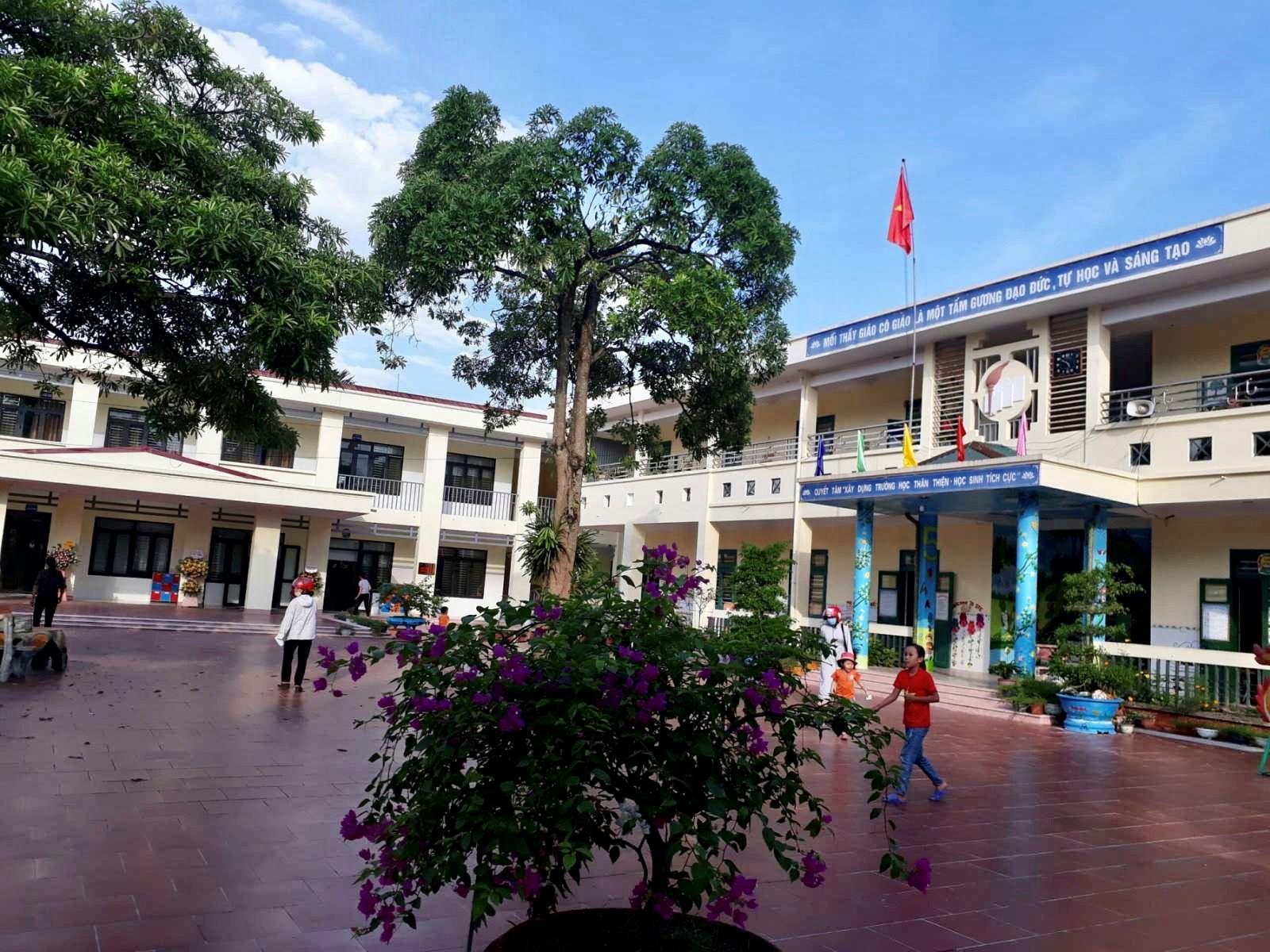 Công trình trường học mới khang trang, sạch đẹp