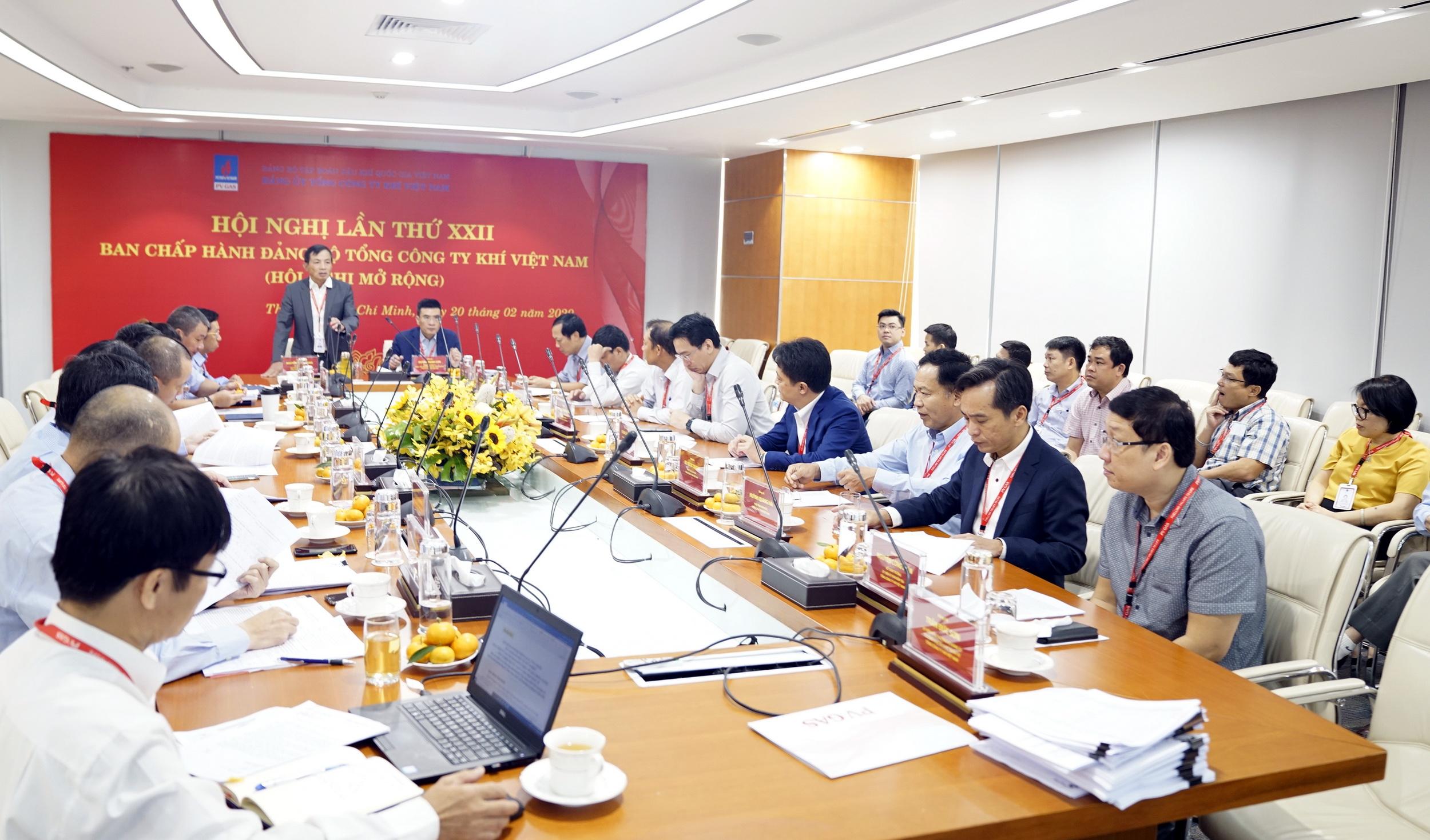 BCH Đảng bộ PV GAS tổ chức hội nghị định kỳ, chuẩn bị kỹ lưỡng cho cho công tác tổ chức Đại hội
