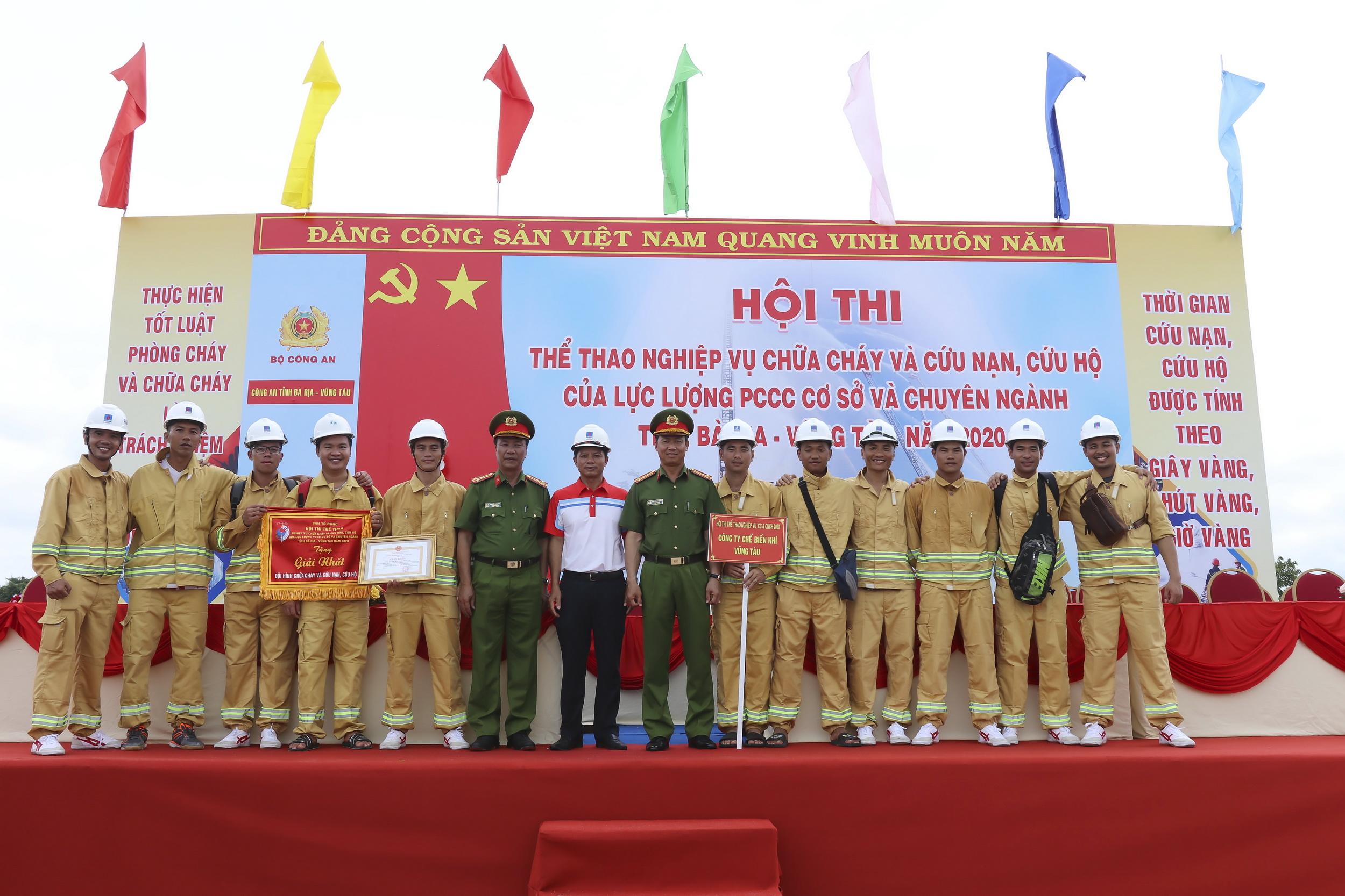 Đội tuyển KVT giành giải Nhất Hội thao