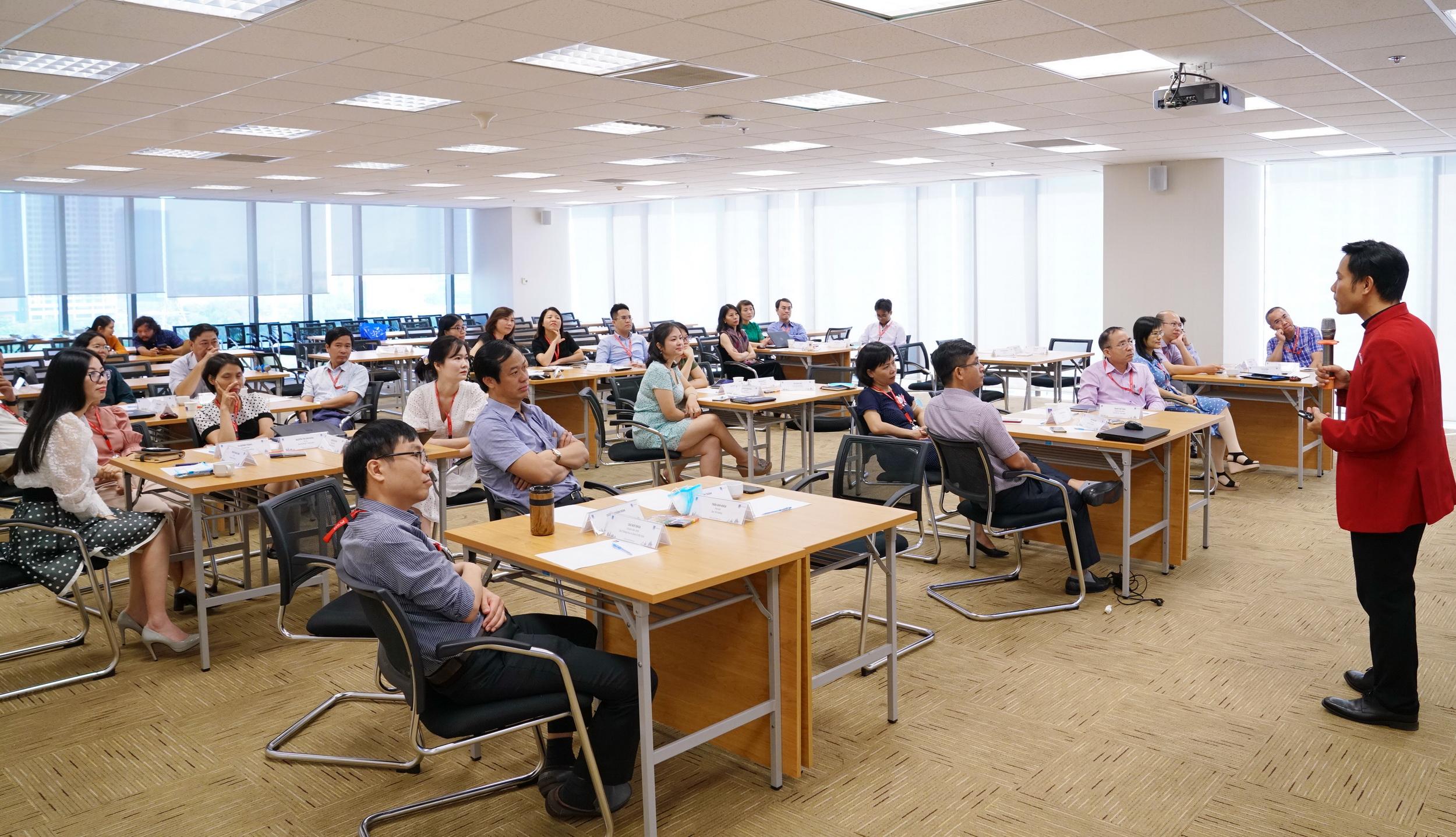 Khóa đào tạo triển khai thực hành Văn hóa Doanh nghiệp (VHDN) PV GAS