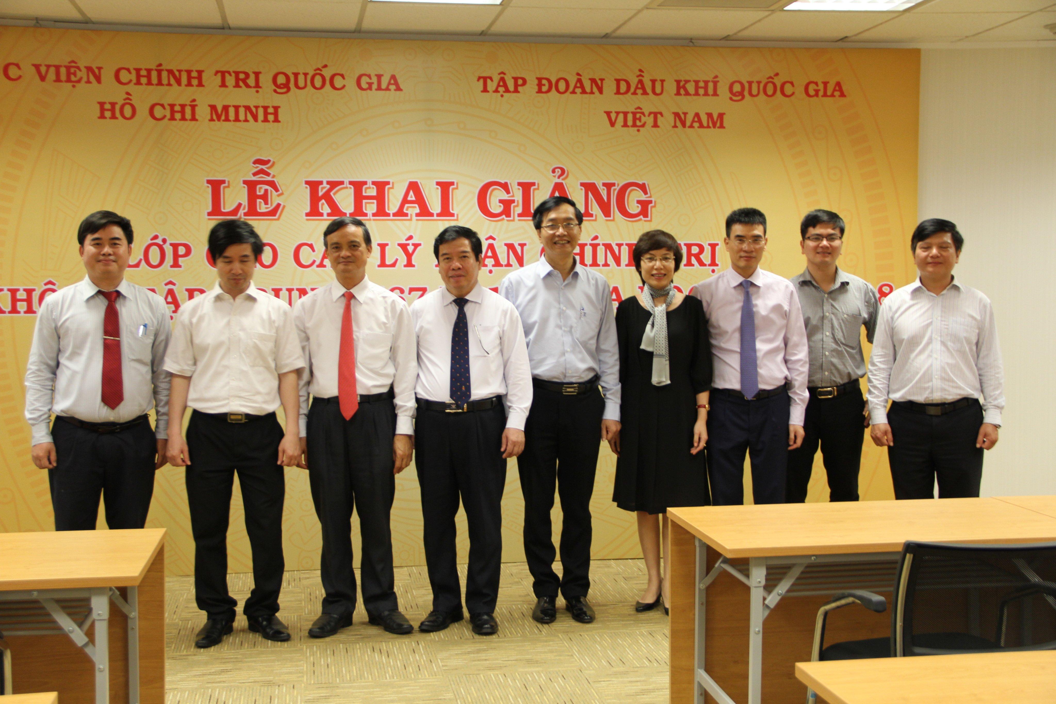 PV GAS đăng cai tổ chức Lớp Cao cấp Chính trị cho ngành Dầu khí phía Nam