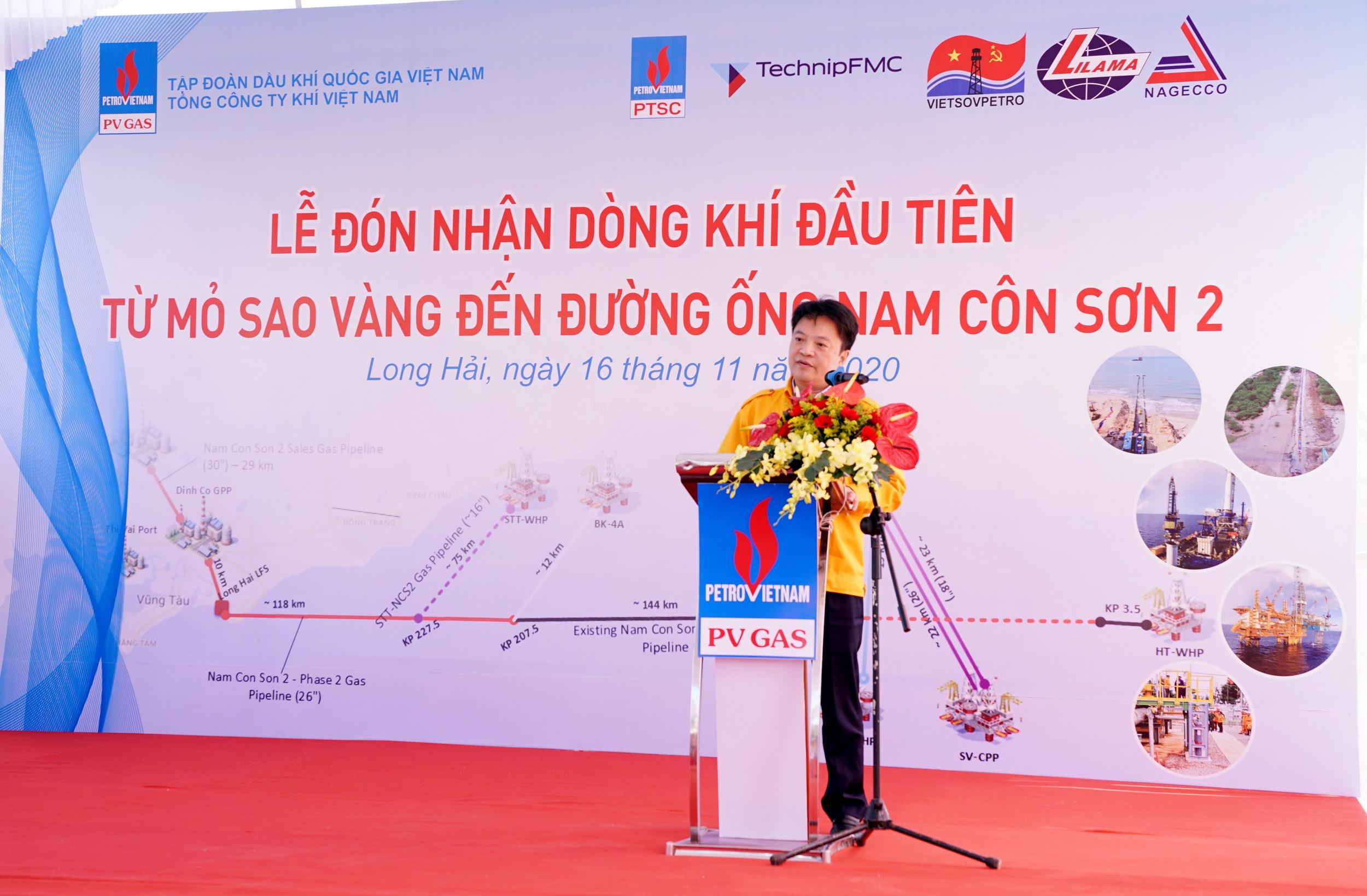Phát biểu của PTGĐ PV GAS Hoàng Văn Quang