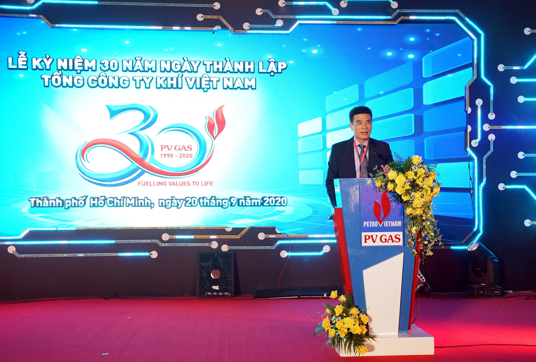 Phát biểu chào mừng 30 năm ngày thành lập PV GAS của Bí thư Đảng ủy – Tổng giám đốc Dương Mạnh Sơn