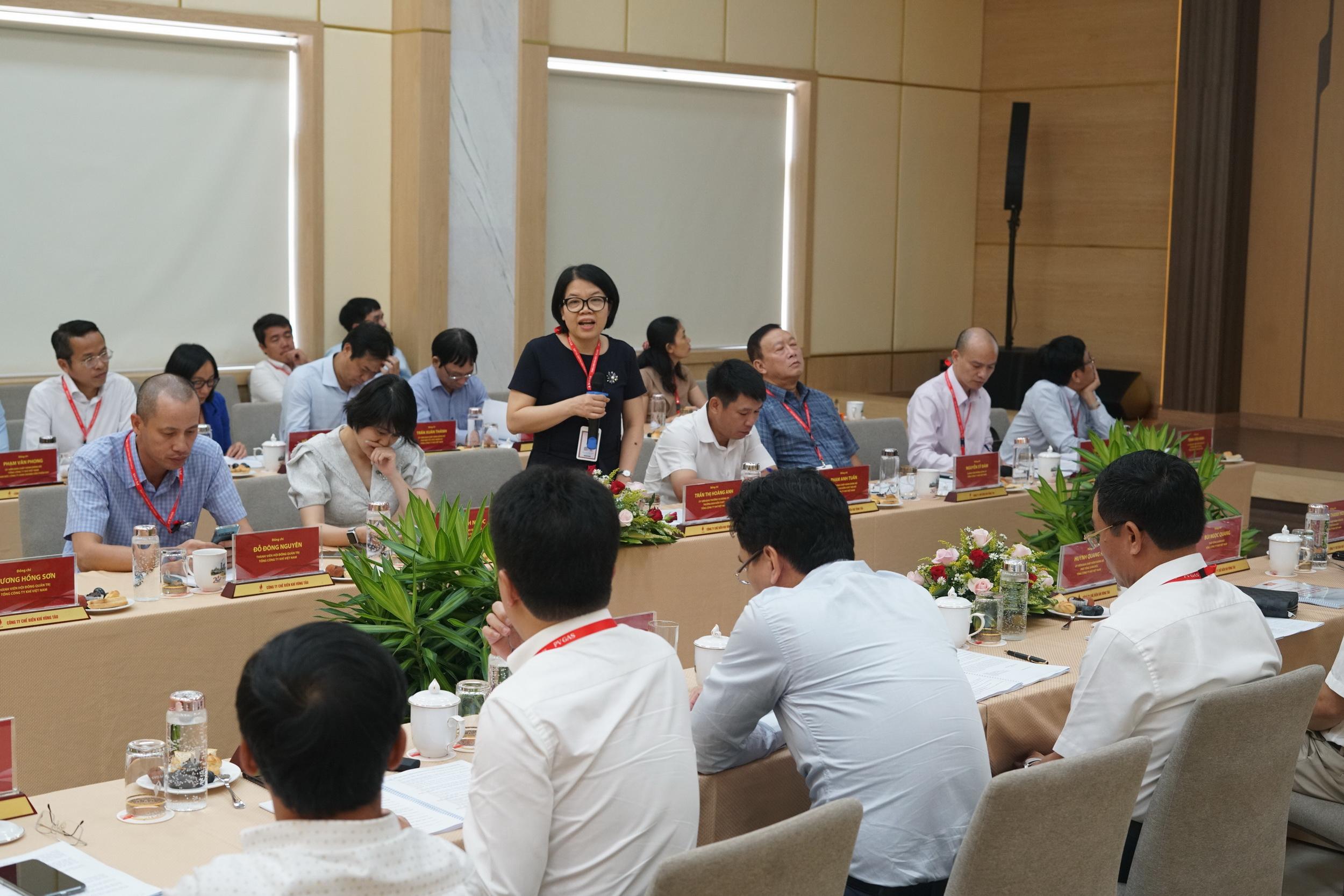 Nhiều ý kiến đóng góp cho các dự thảo nội dung tại Hội nghị