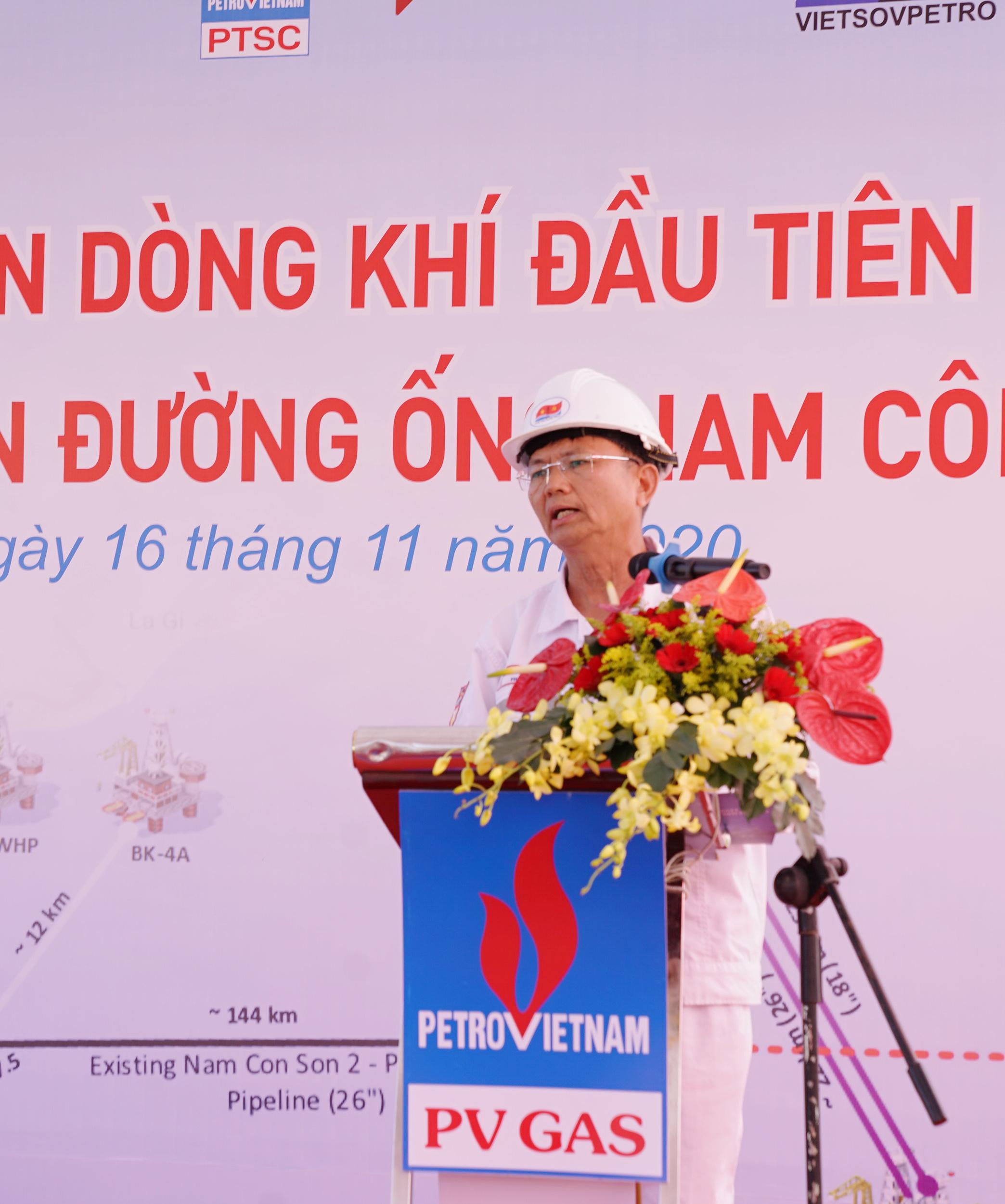 Phát biểu của PTGĐ Vietsovpetro Trần Xuân Hoàng