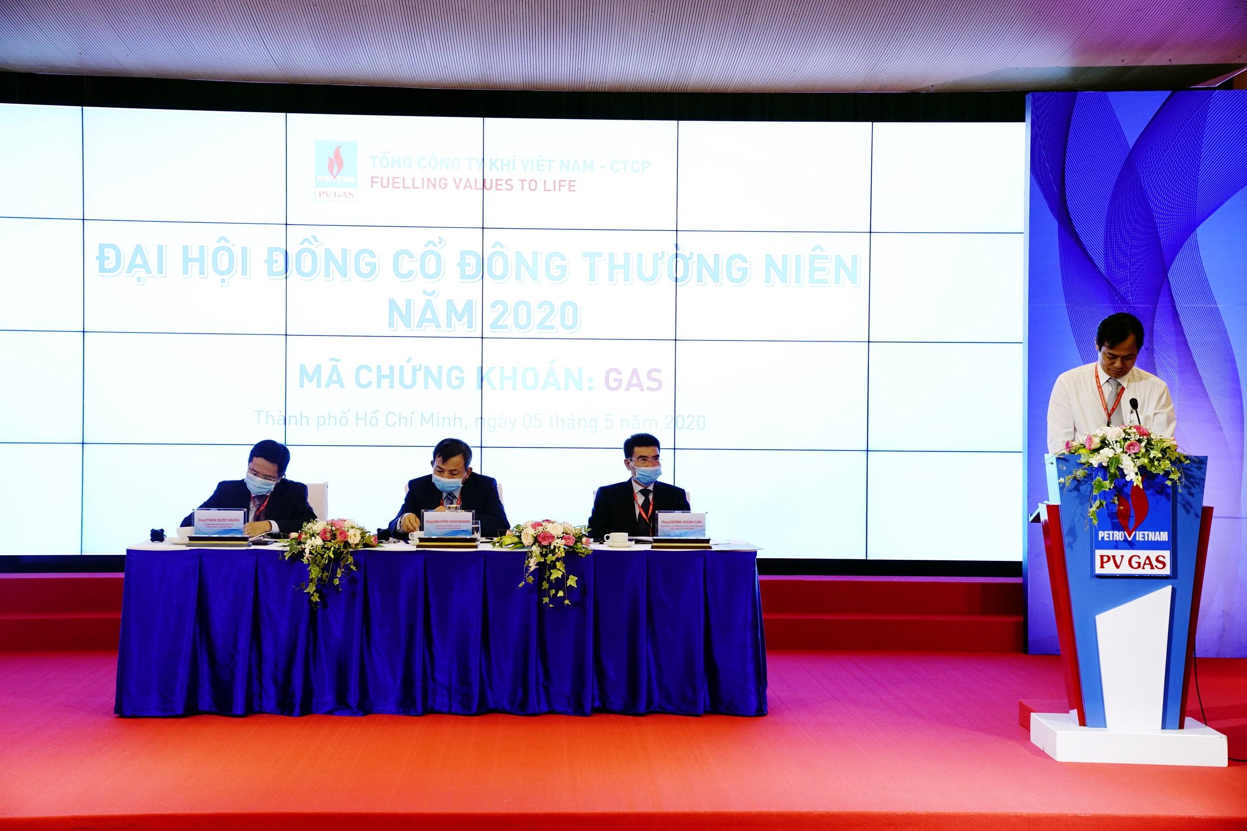 Cuộc họp ĐHĐCĐ PV GAS 2020 được tổ chức thành công, đúng luật định