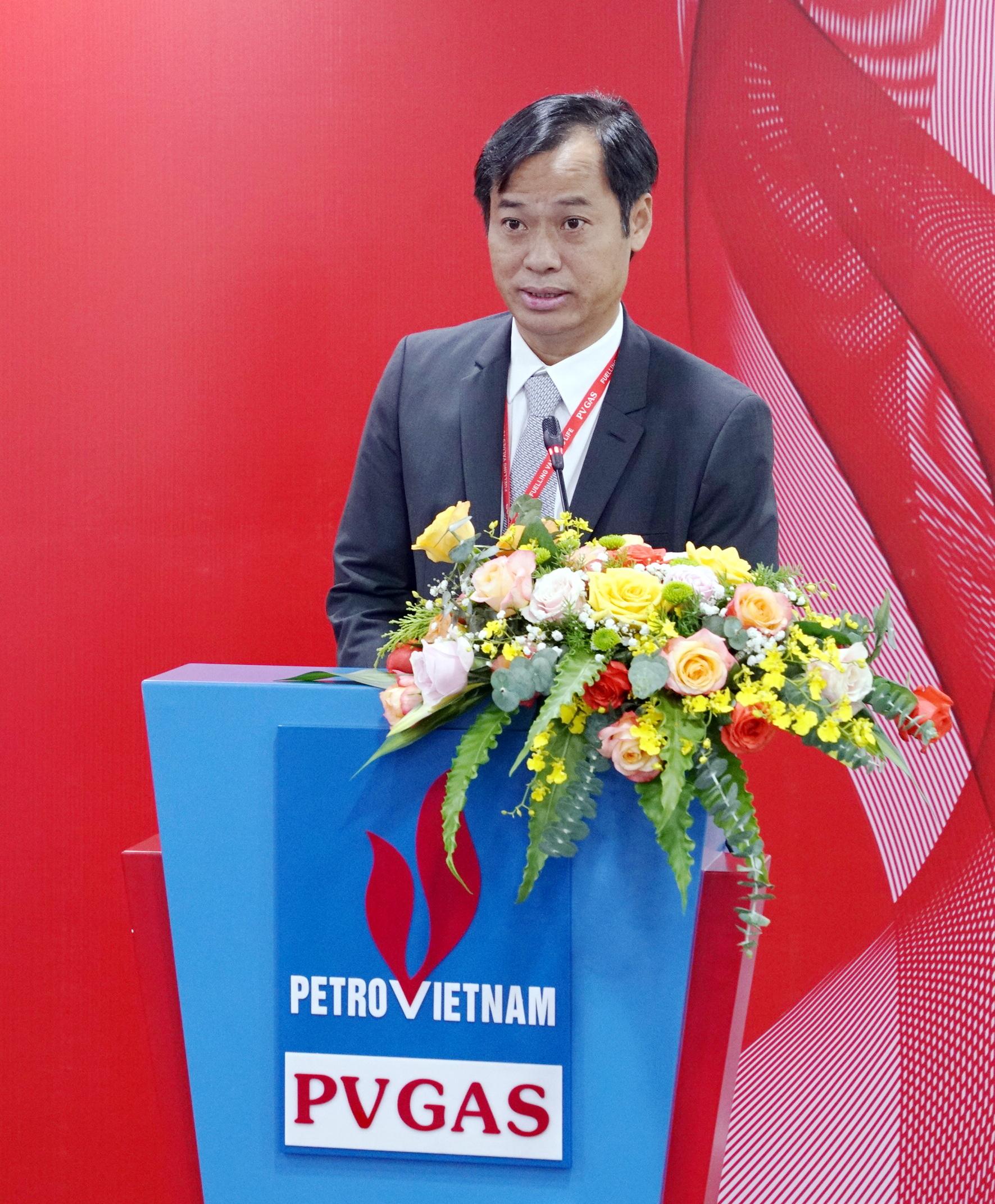 Tân Chủ tịch Công đoàn PV GAS phát biểu nhận nhiệm vụ