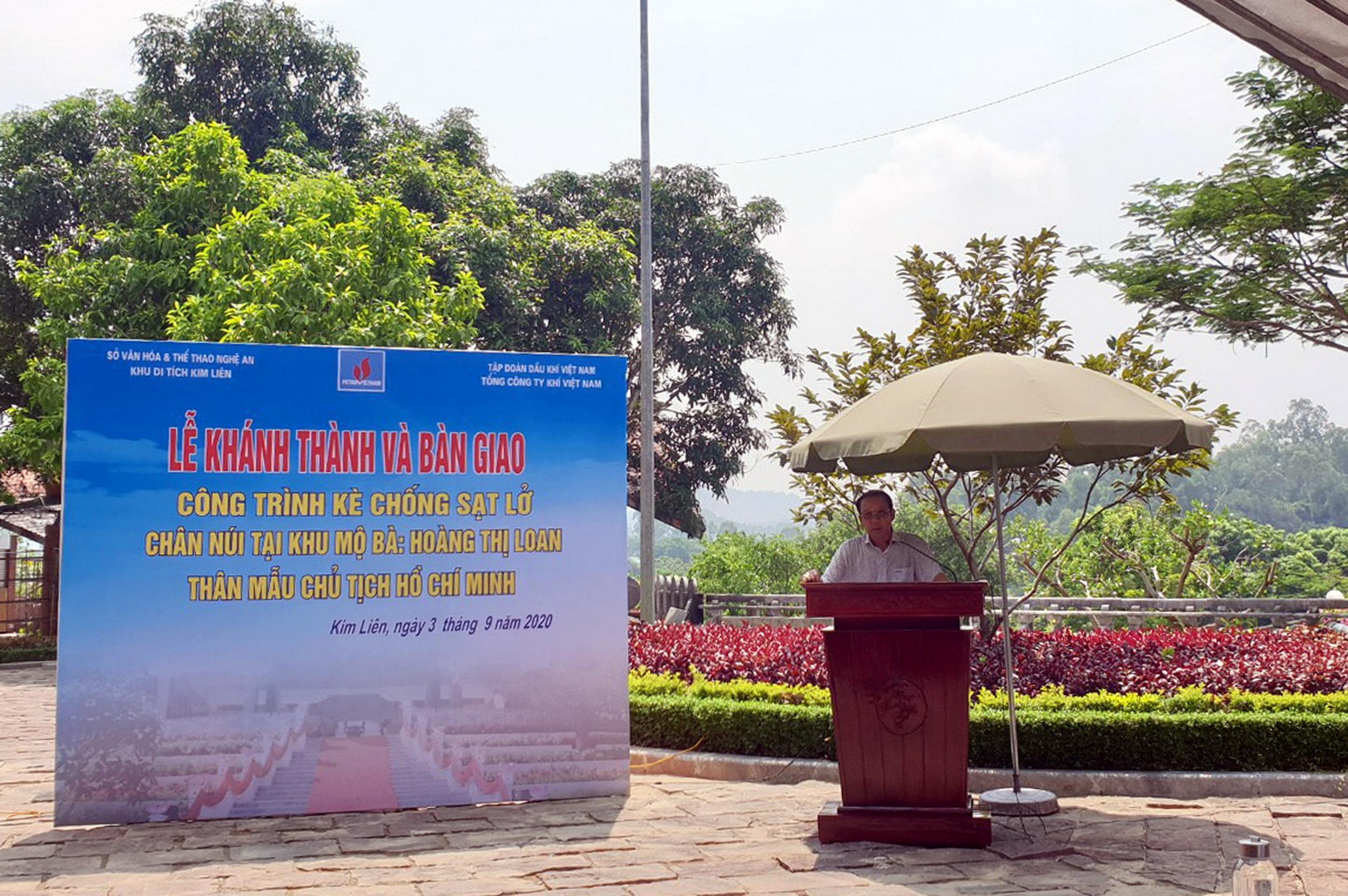 Phát biểu của Lãnh đạo PV GAS tại Lễ Khánh thành