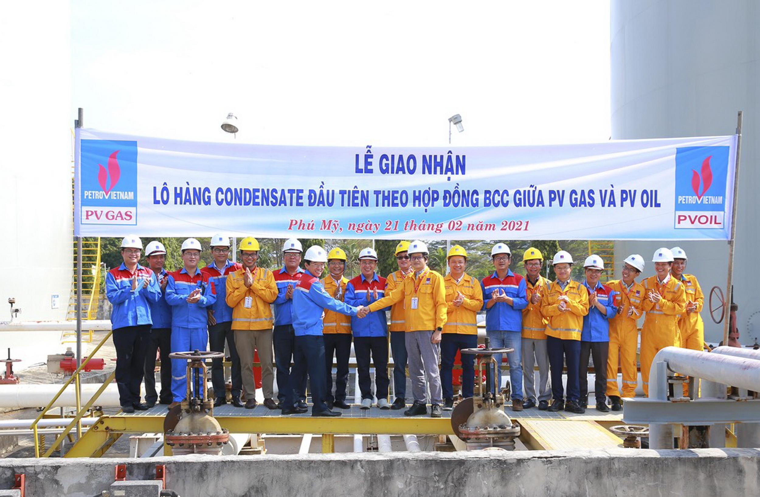 Xác nhận bước triển khai mở đầu theo Hợp đồng hợp tác kinh doanh (BCC) giữa PV GAS và PVOIL