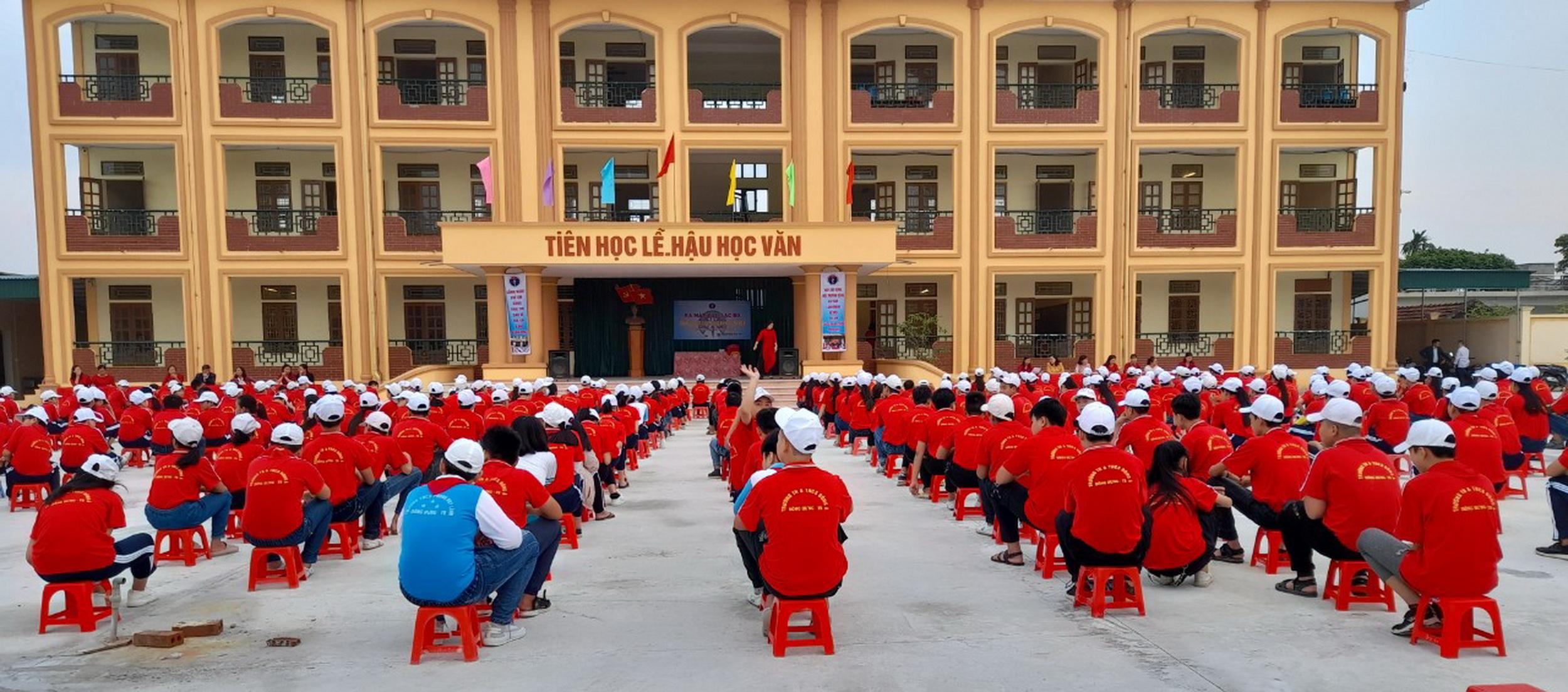 Ngôi trường mới – mái nhà giáo dục tươi đẹp của thầy trò Đông Á, Thái Bình