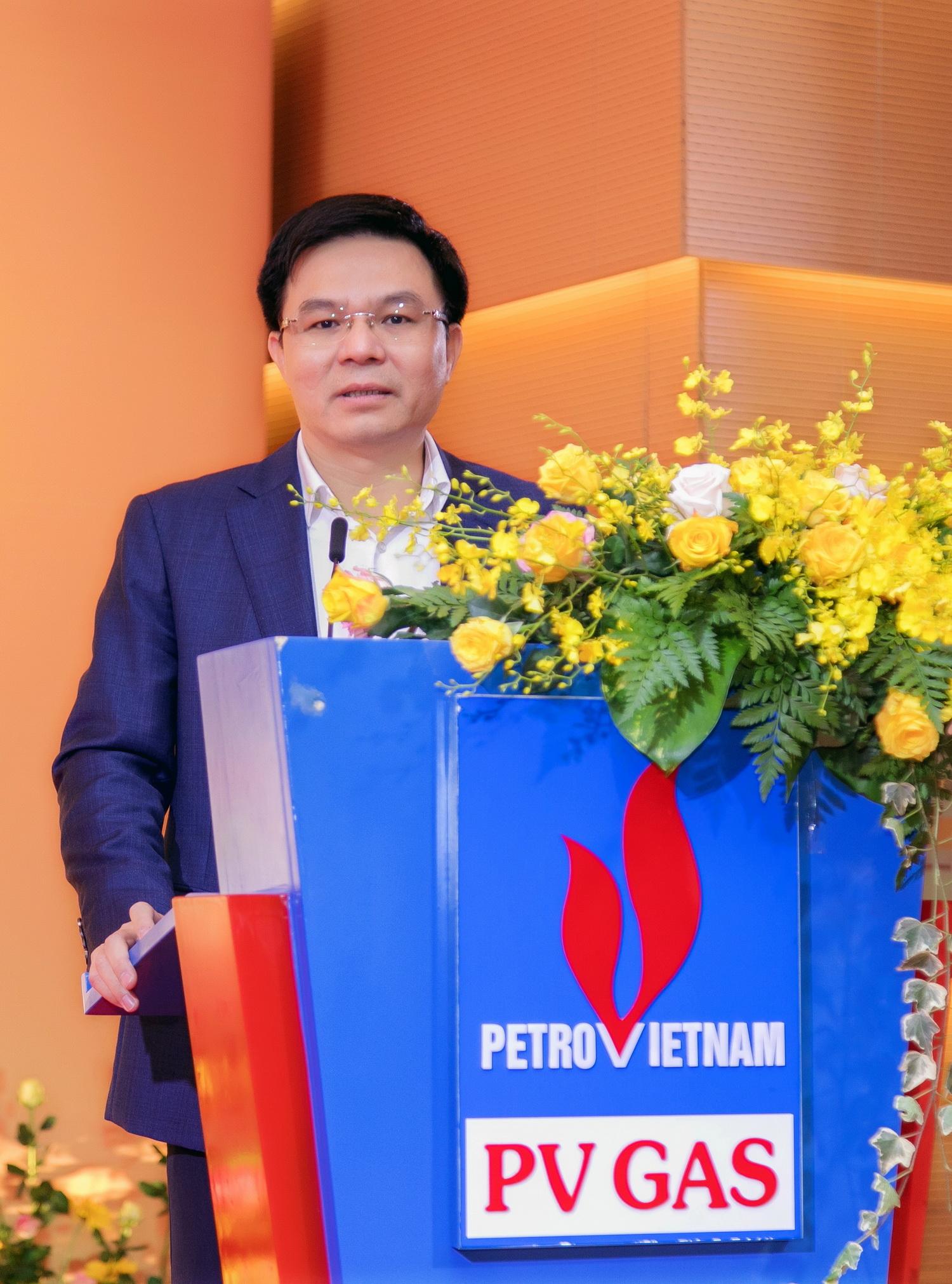 Phát biểu chúc mừng của ông Lê Mạnh Hùng – Tổng Giám đốc PVN