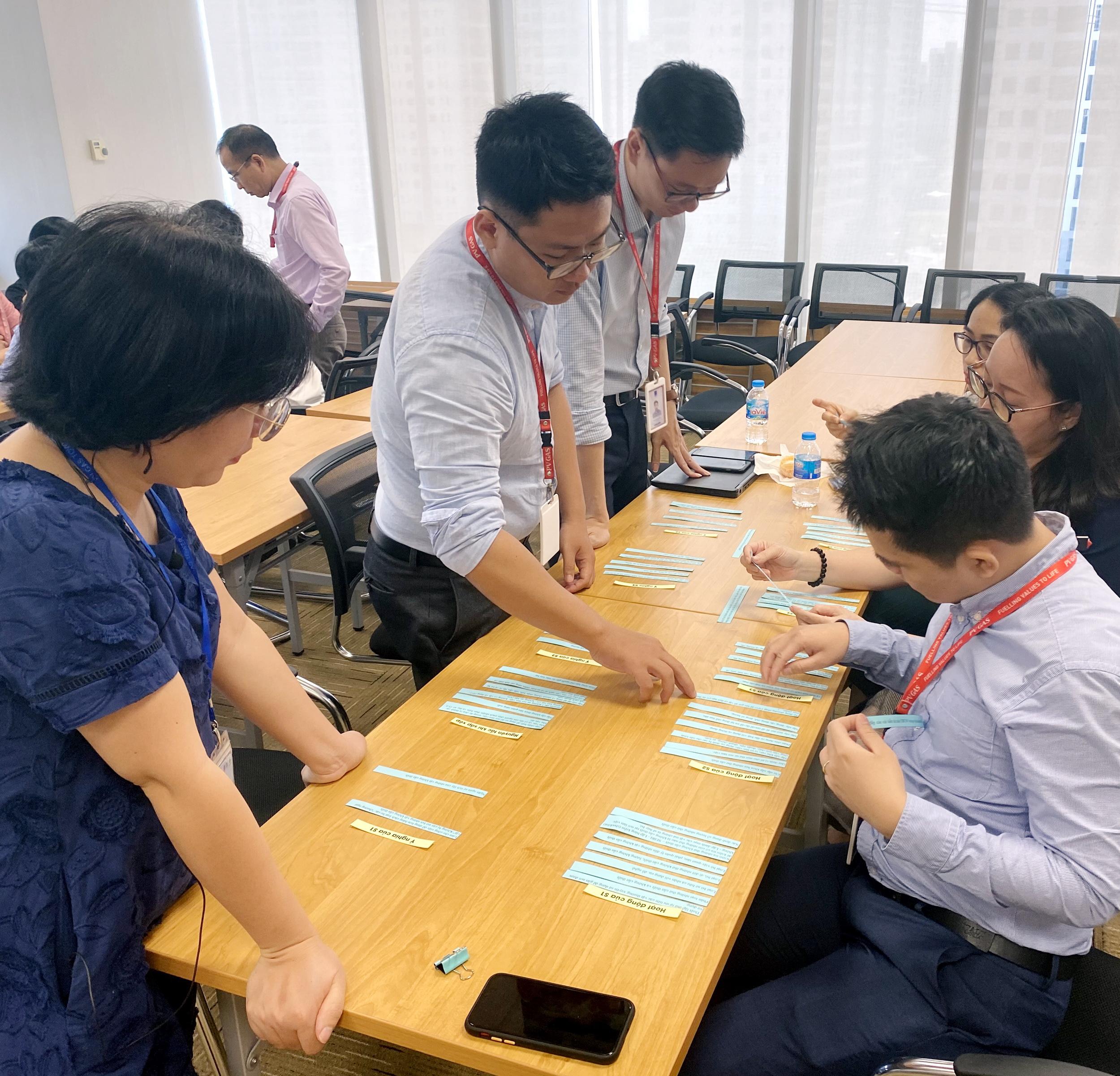Tổ chức học và triển khai chương trình 5S tại Cơ quan Điều hành PV GAS