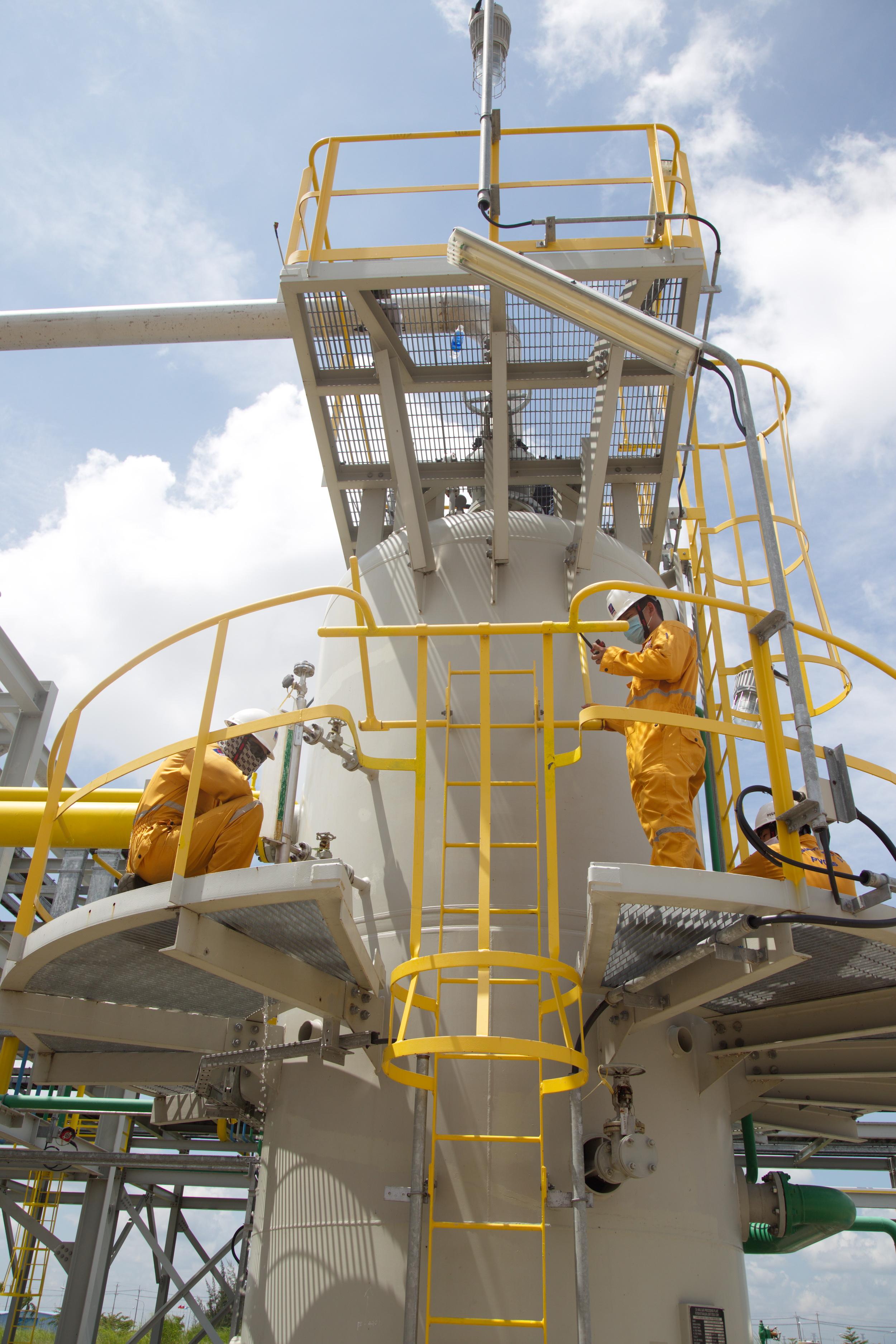 Thực hiện BDSC hệ thống khí Cà Mau năm 2020