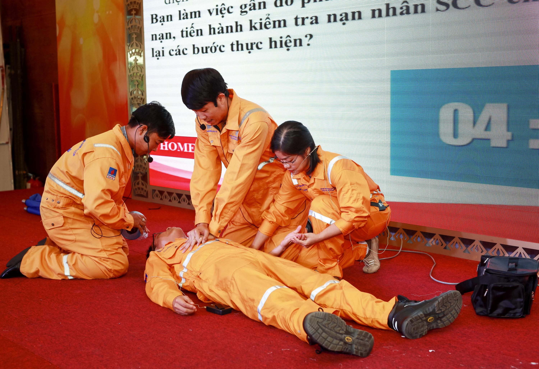 PV GAS thường xuyên tổ chức diễn tập PCCC và cứu hộ cứu nạn