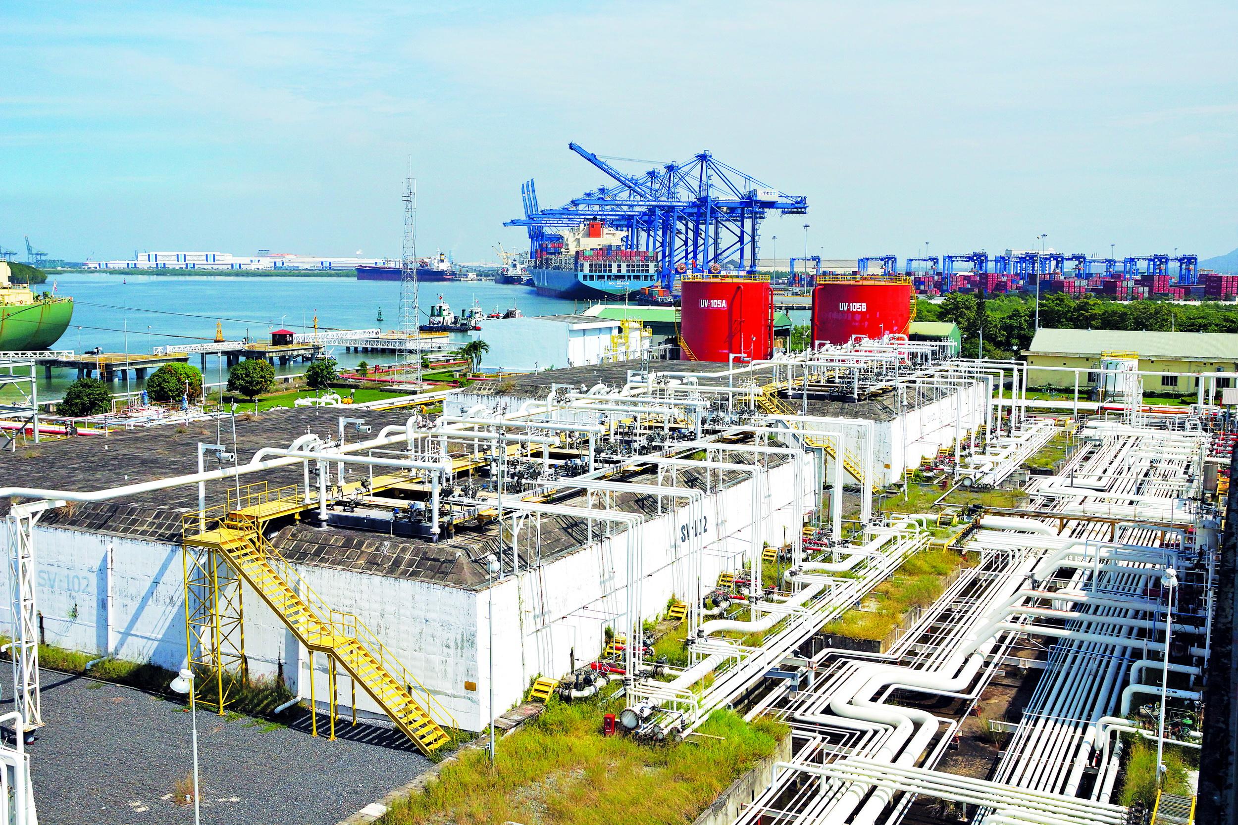 Kho cảng PV GAS tại Bà Rịa - Vũng Tàu