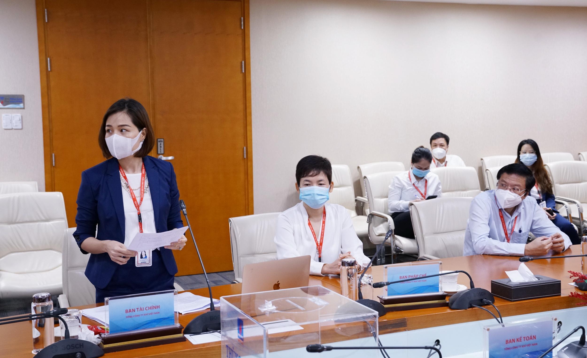 Ban Kiểm phiếu báo cáo HĐQT trong cuộc họp trực tuyến:96,85% tổng số cổ phiếu có quyền biểu quyết đã tán thành 3 nội dung lấy ý kiến ĐHĐCĐ