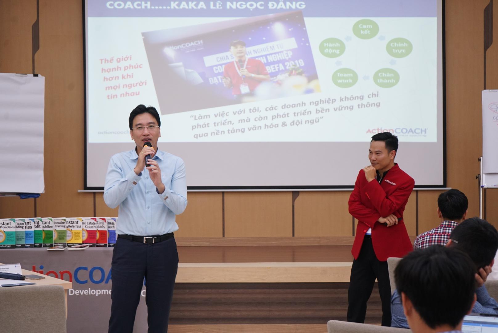 PTGĐ Nguyễn Thanh Bình phát biểu kết luận về những nội dung Khóa đào tạo