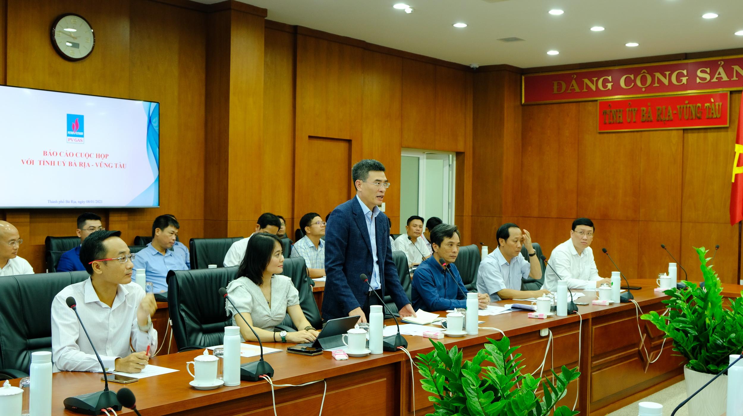 Phát biểu của TGĐ PV GAS Dương Mạnh Sơn