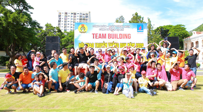 Niềm vui đoàn kết trong Hội thao DVK 2020