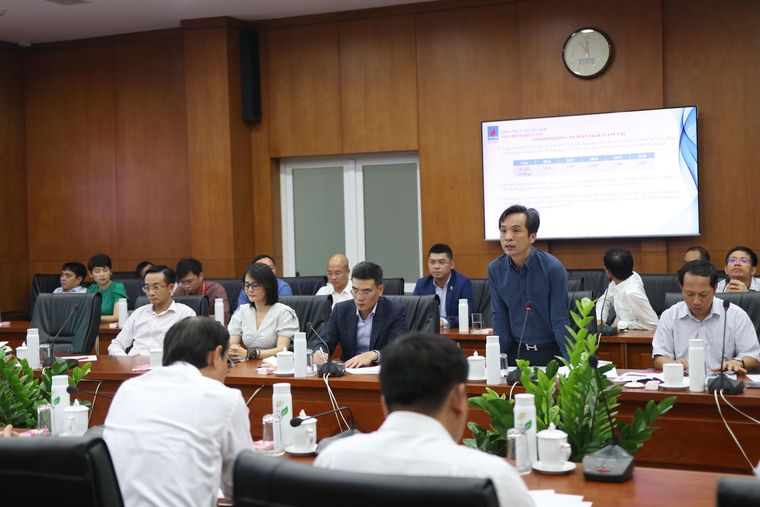Các ý kiến đóng góp tại cuộc họp