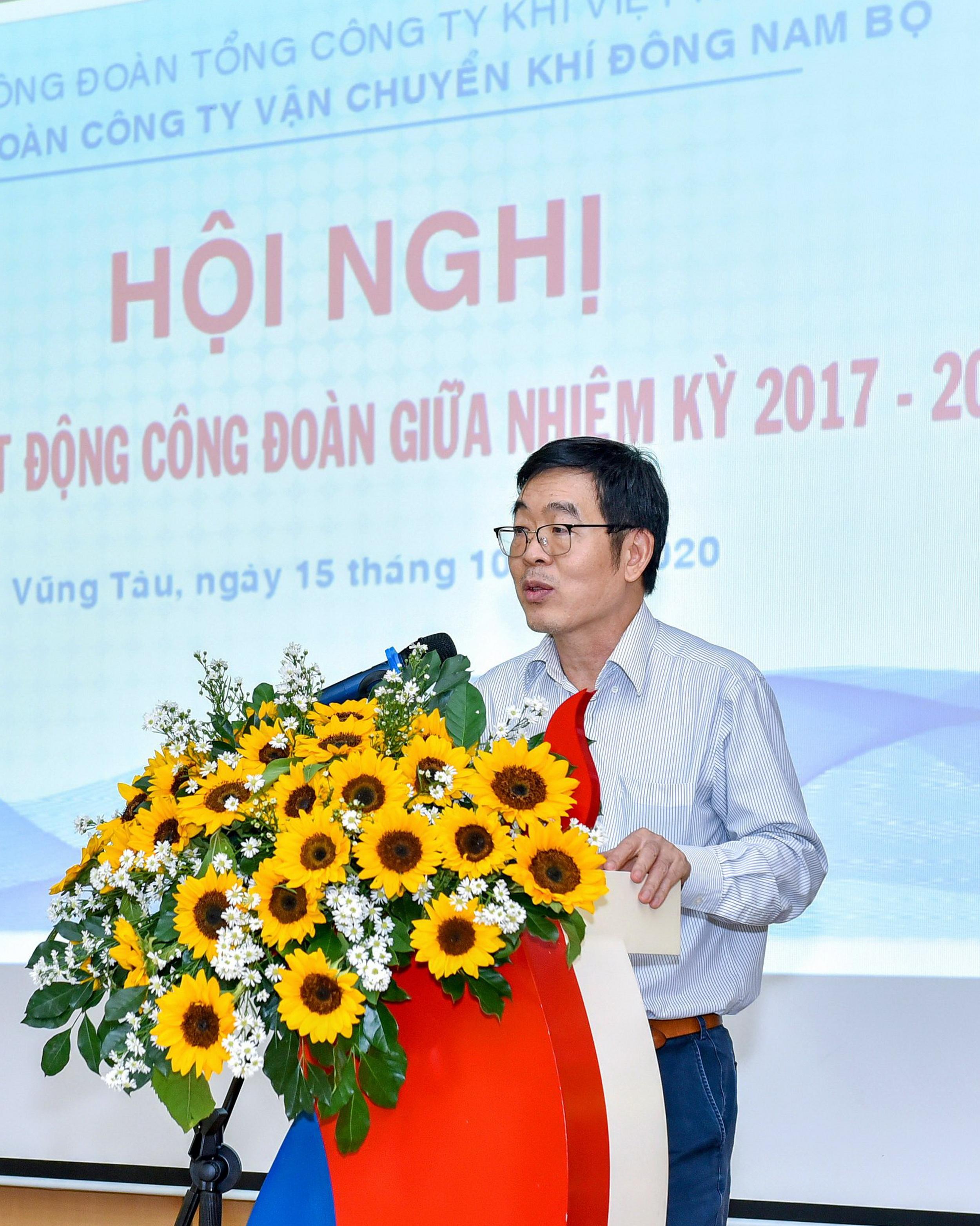 Phát biểu của Chủ tịch Công đoàn PV GAS Nguyễn Văn Hùng