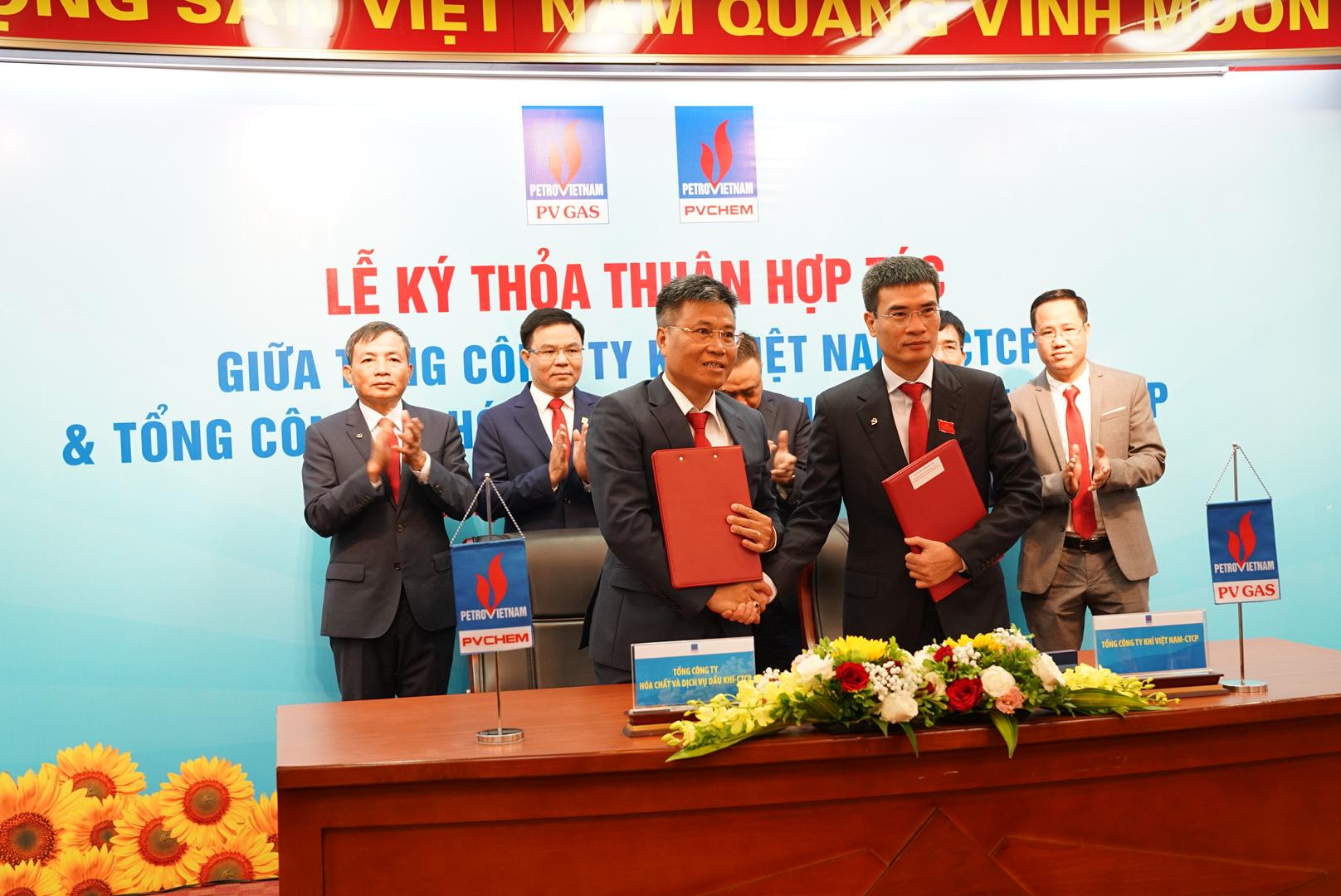 Ký kết Thỏa thuận hợp tác giữa PV GAS và PVChem