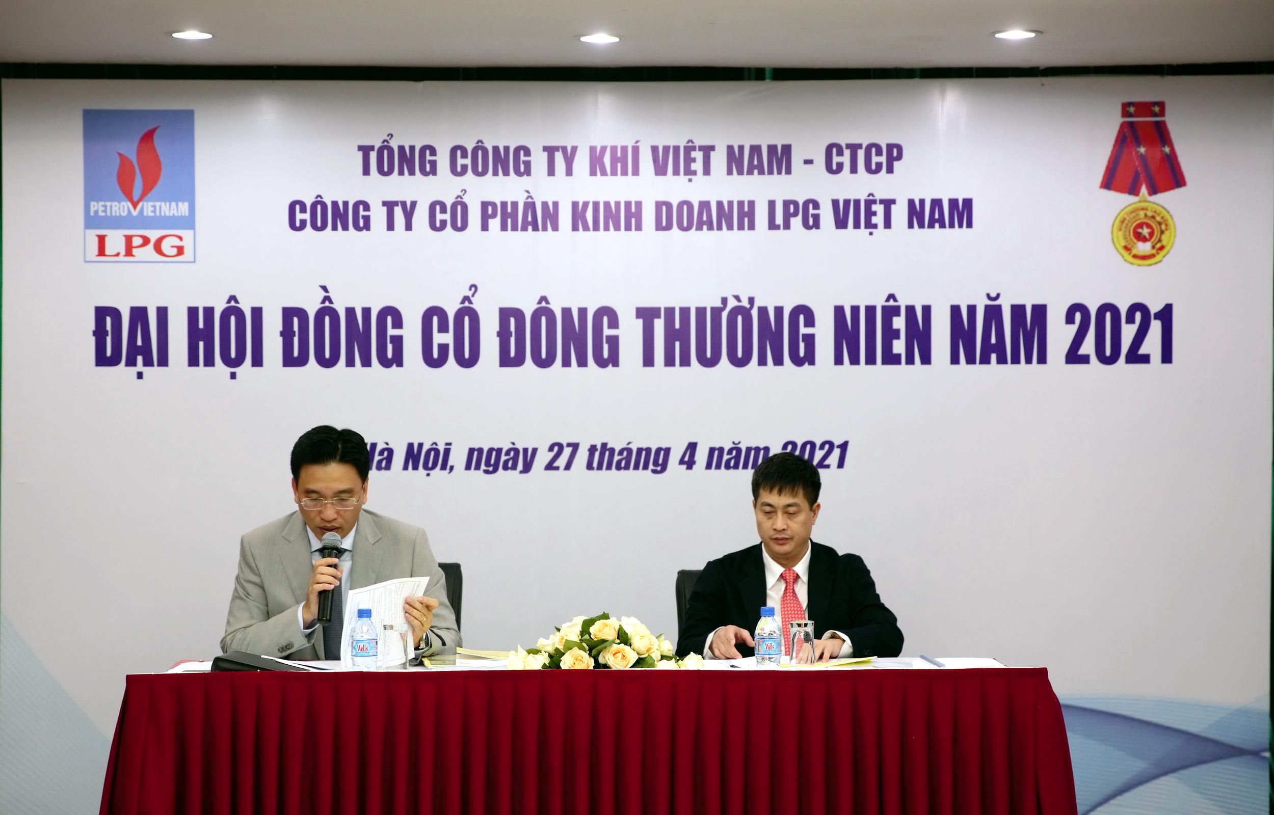 Đoàn Chủ tịch điều hành Cuộc họp ĐHĐCĐ 2021