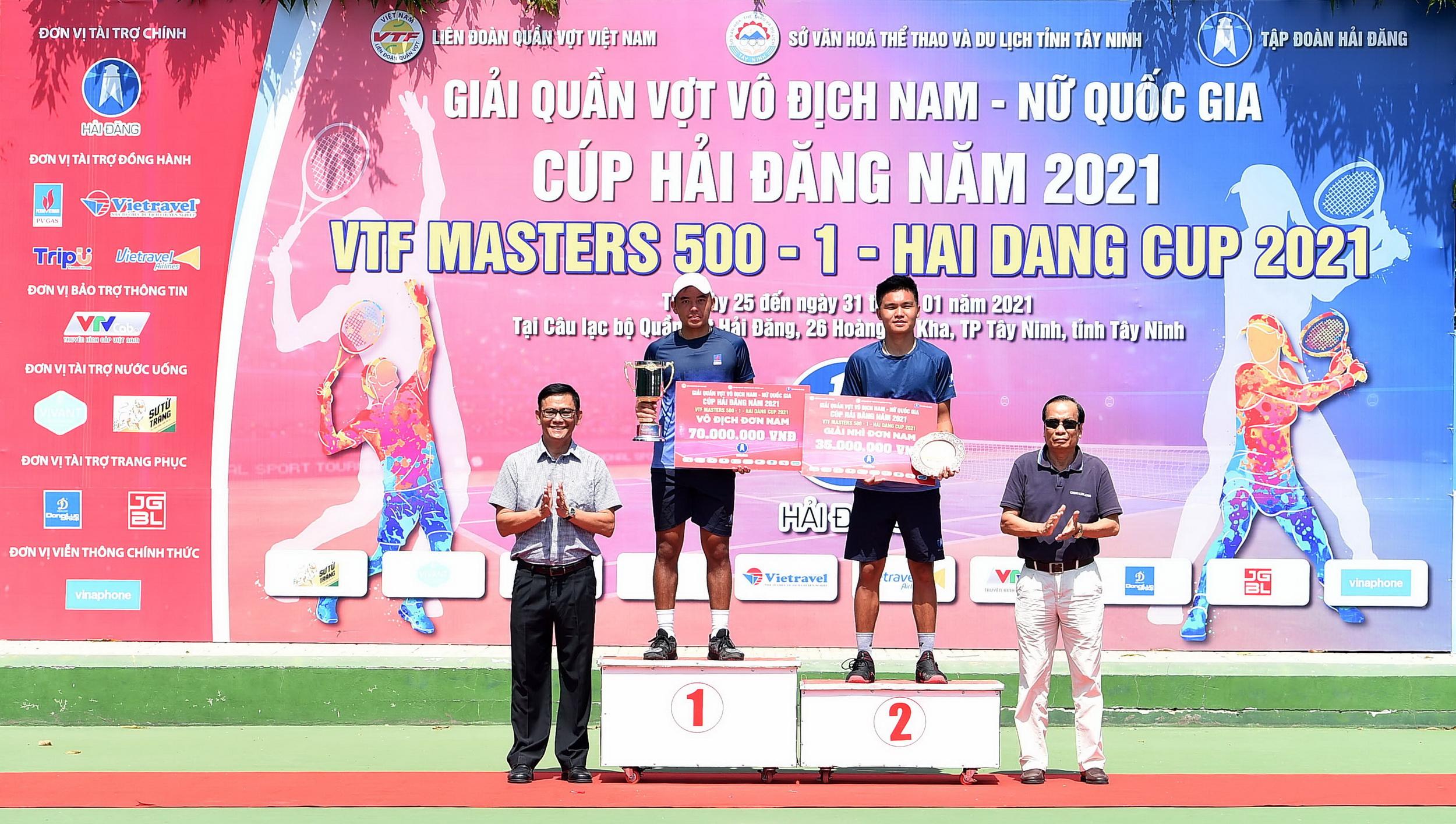 PV GAS cùng đồng hành với các giải đấu của Liên đoàn Quần vợt Việt Nam và VĐV Lý Hoàng Nam