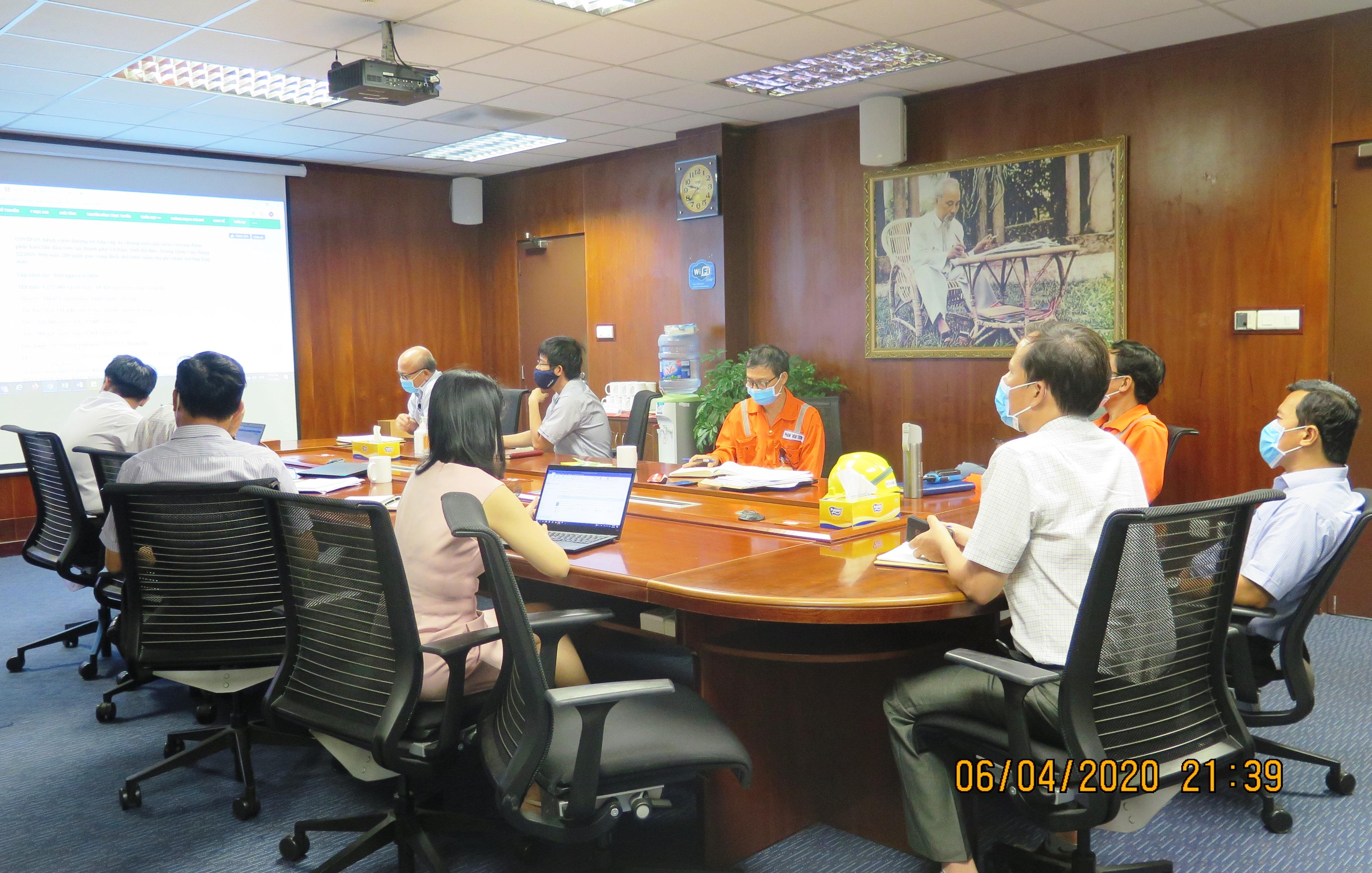 Các cuộc họp đều được tổ chức biệt lập, đề ra các giải pháp phòng chống dịch hiệu quả