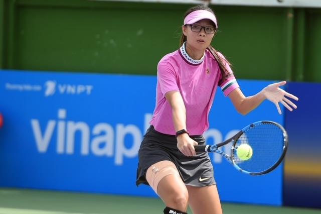Tài năng nữ trên sân quần vợt: VĐV Sĩ Bội Ngọc