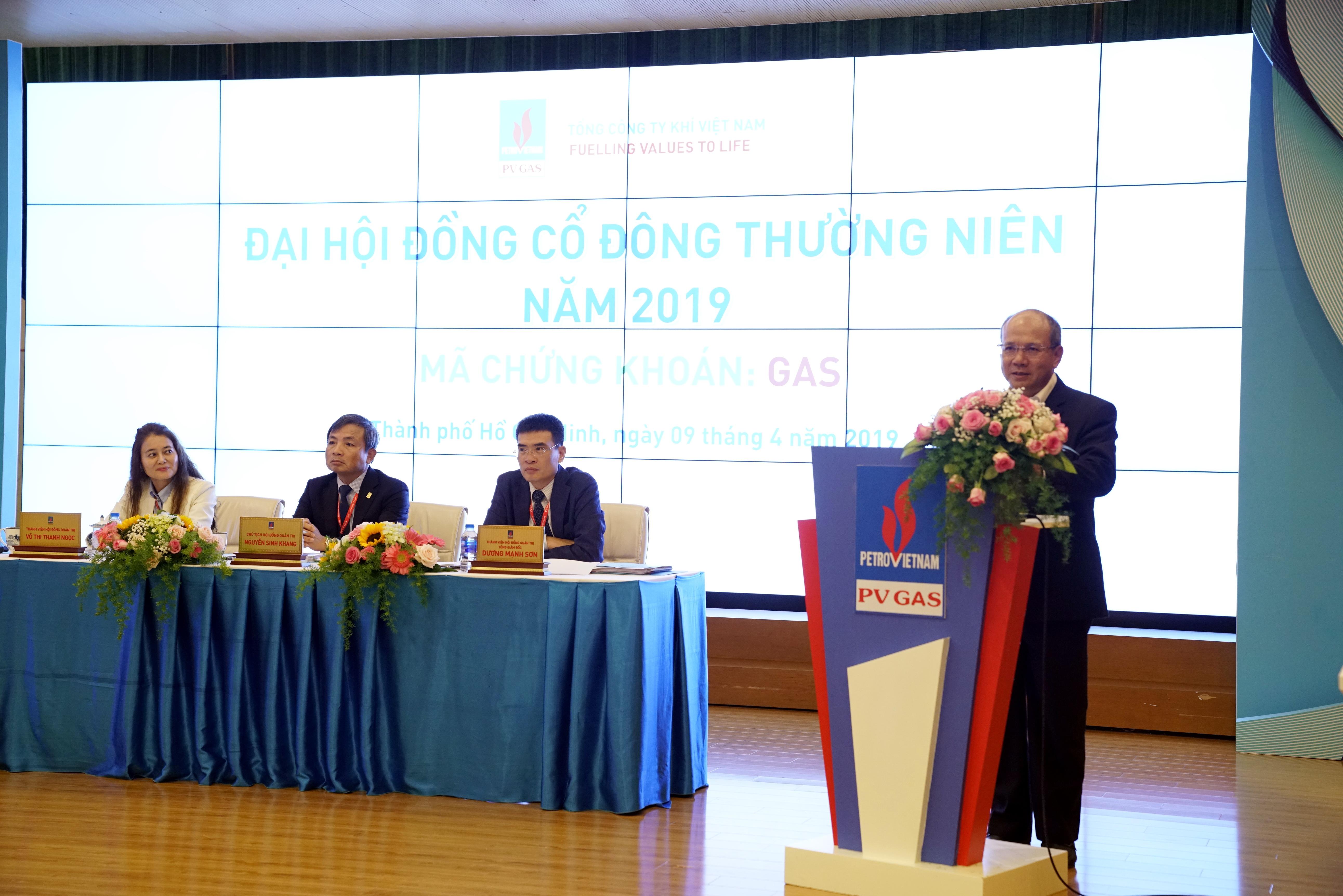 Phát biểu của ông Đinh Văn Sơn – Thành viên HĐTV PVN