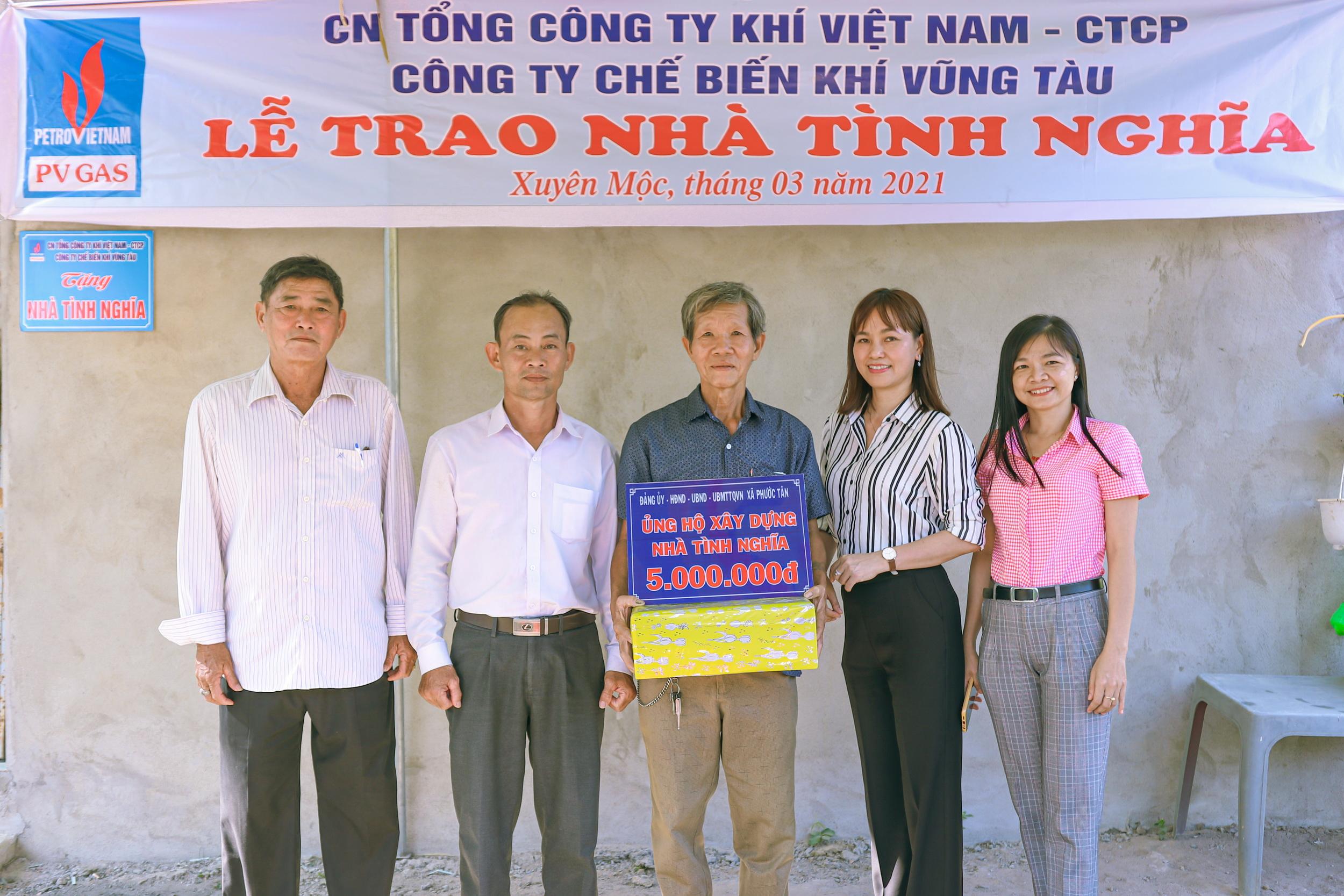 Chính quyền Xuyên Mộc hỗ trợ các gia đình ổn định cuộc sống mới
