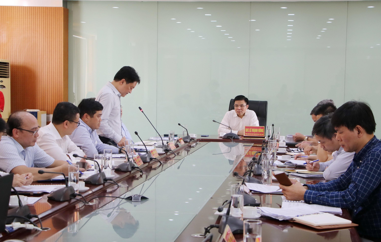 Quang cảnh buổi làm việc của lãnh đạo PVN với các đơn vị