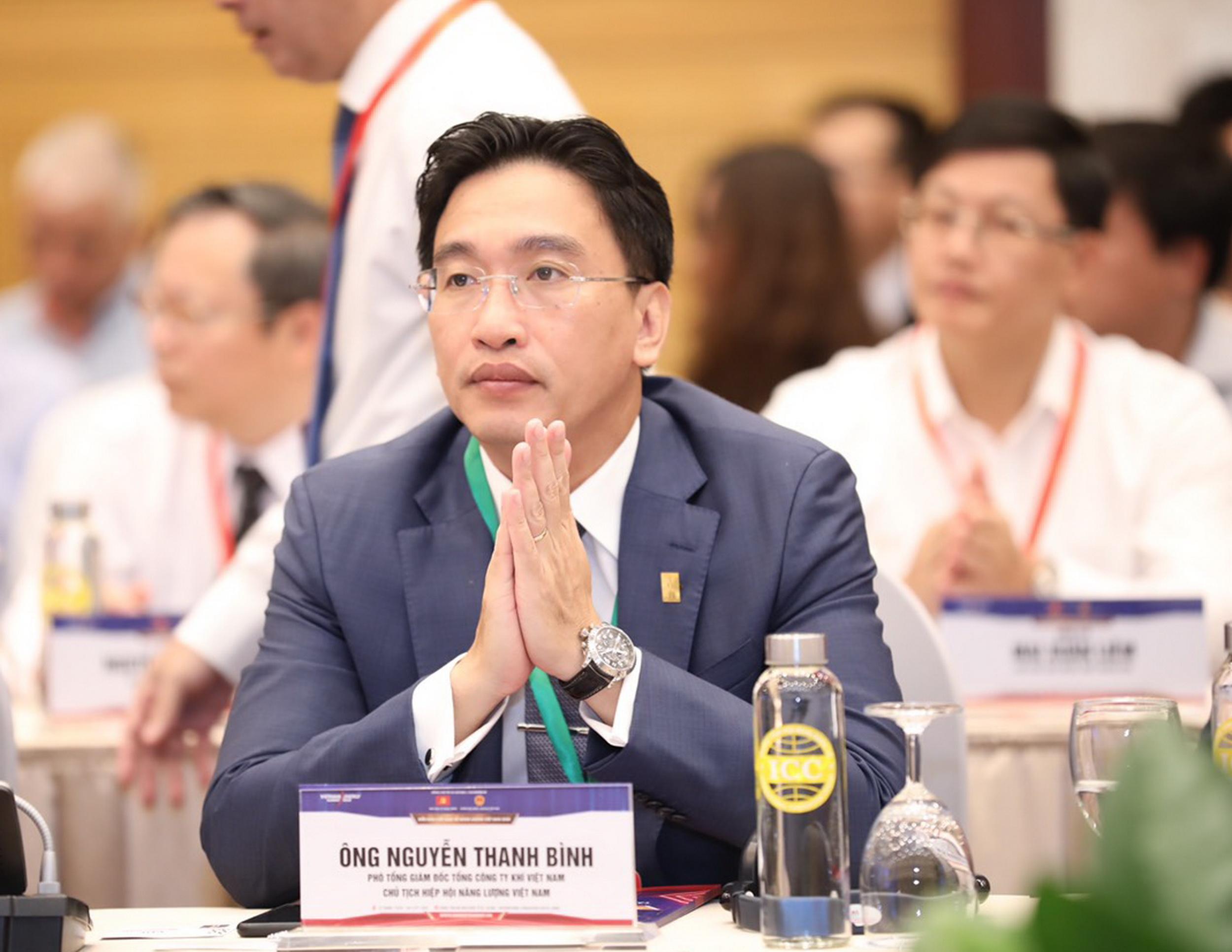 Đồng chí Nguyễn Thanh Bình, Phó Tổng giám đốc PV GAS tham gia Diễn đàn