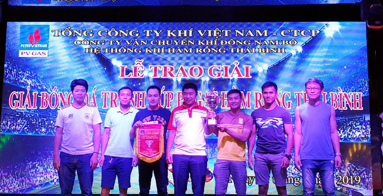 Hình ảnh tại sân đấu Giải Bóng đá Thái Bình 2019