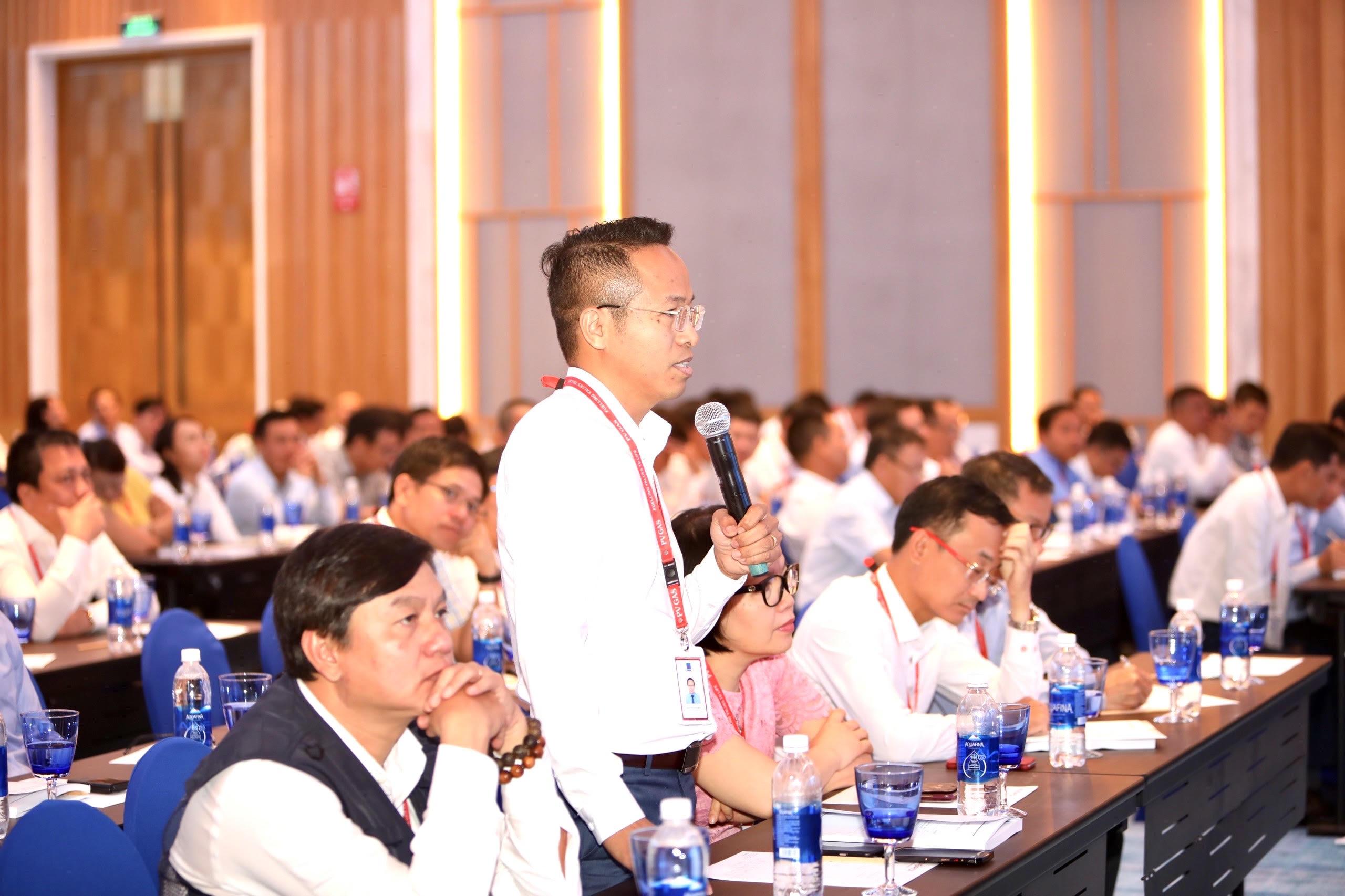 Nhiều ý kiến đóng góp tại Hội nghị