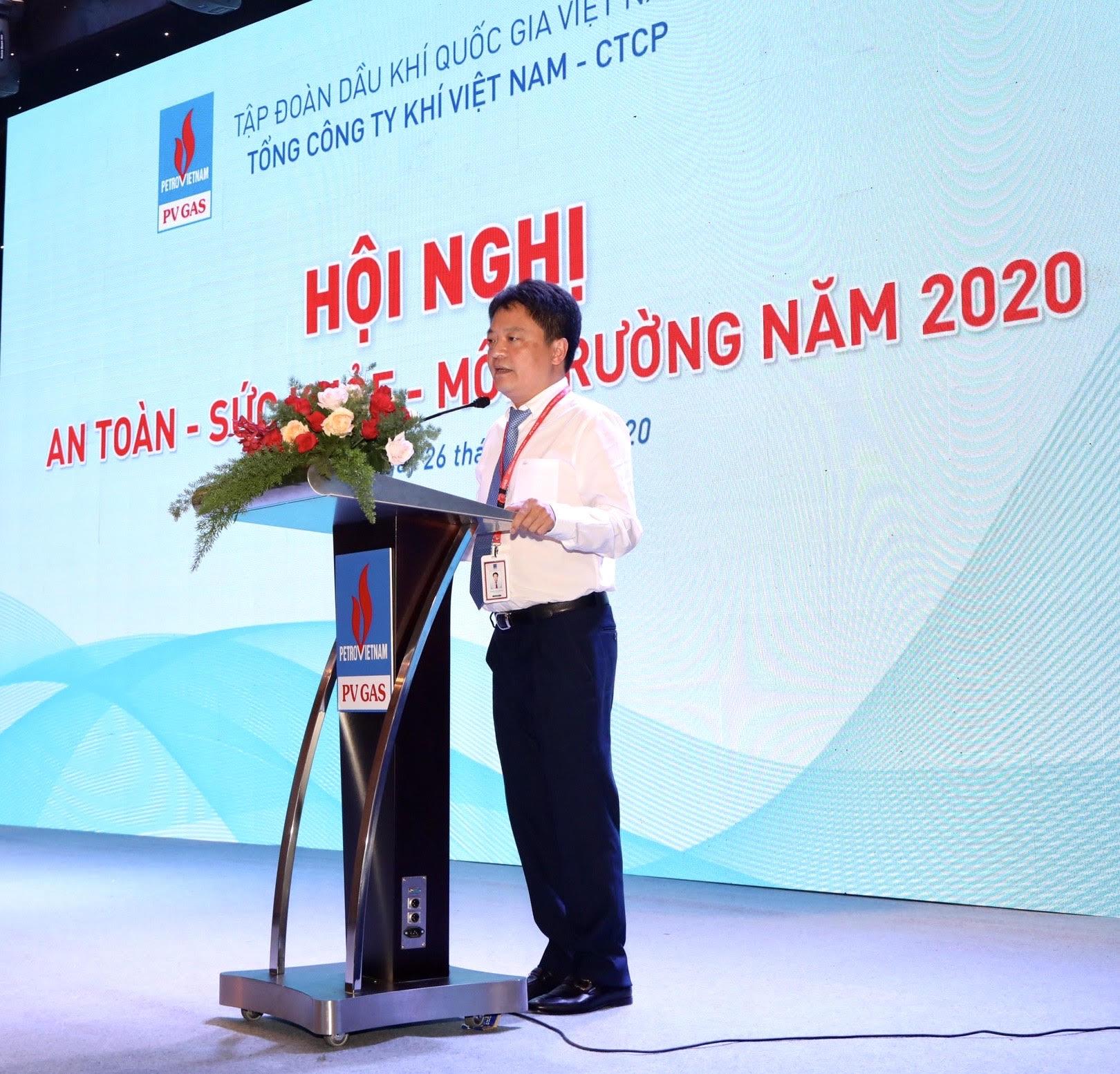 Ông Hoàng Văn Quang PTGĐ PV GAS kết luận Hội nghị