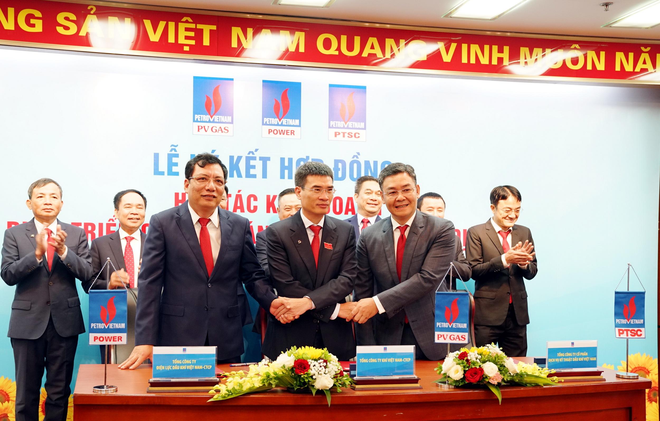 PV GAS thực hiện nhiều ký kết hợp tác cùng phát triển