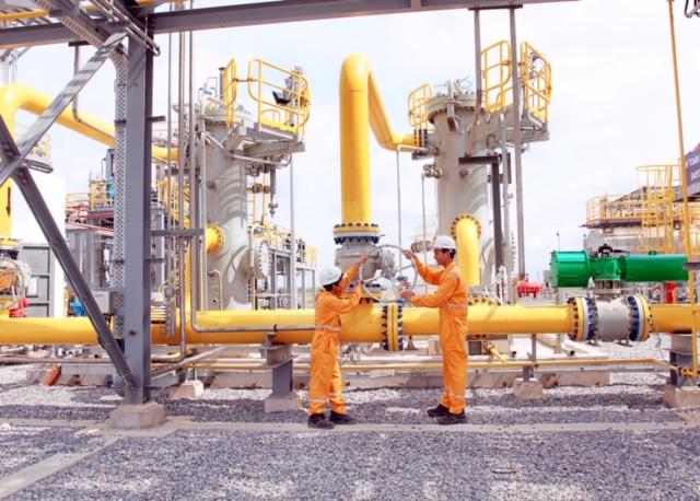 KĐN đã hoàn thành nhiệm vụ quản lý hệ thống đường ống dẫn khí