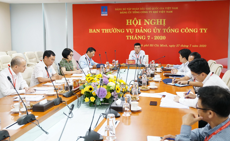 Quang cảnh Hội nghị Ban Thường vụ Đảng ủy PV GAS