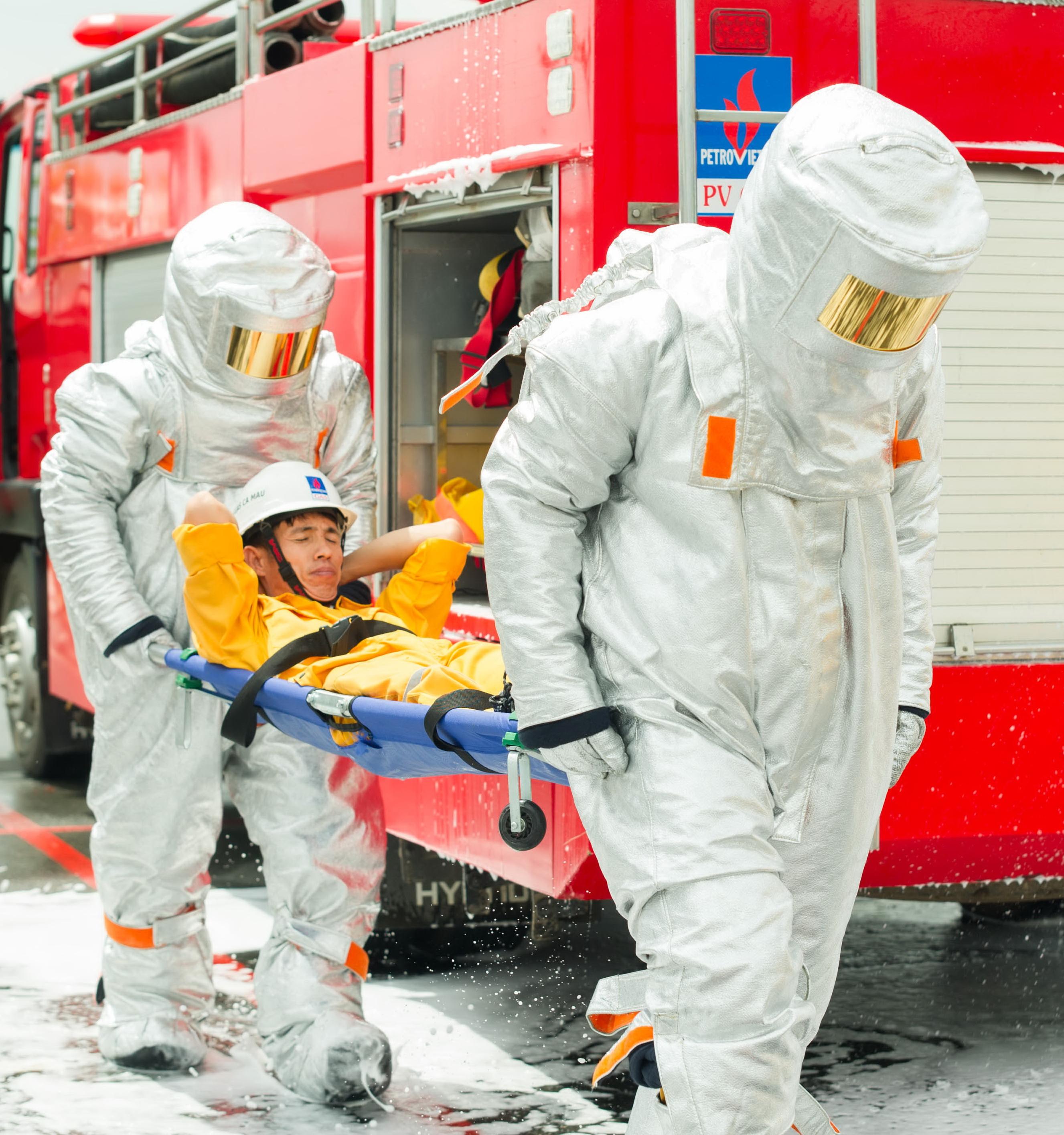 Thường xuyên huấn luyện, luyện tập để đảm bảo an toàn lao động